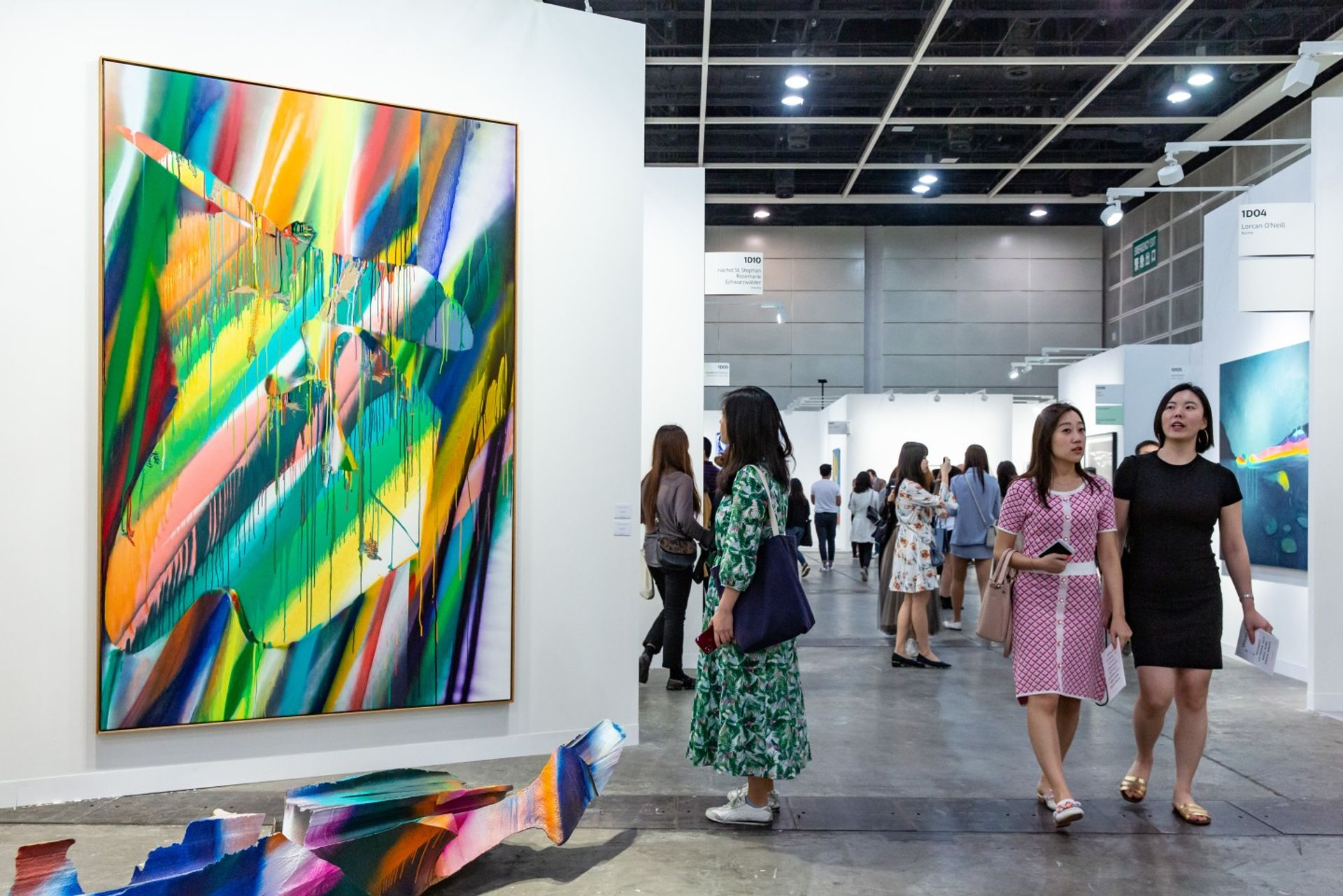 Galleries participating in Art Basel in Hong Kong this year are concerned that collectors will not show up as protests continue to grip the city © Art Basel