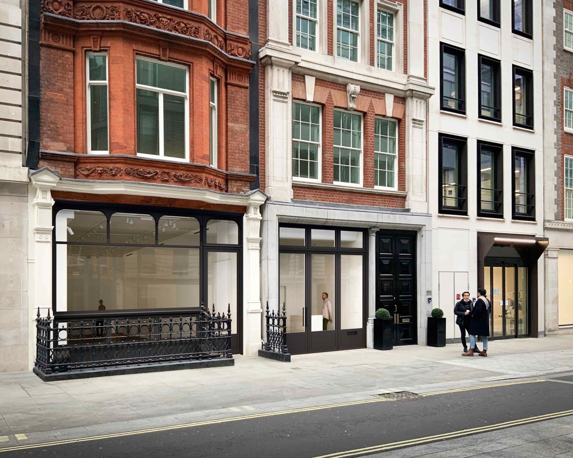 No.9 Cork Street, Frieze's new gallery space in Mayfair, London Courtesy of Frieze