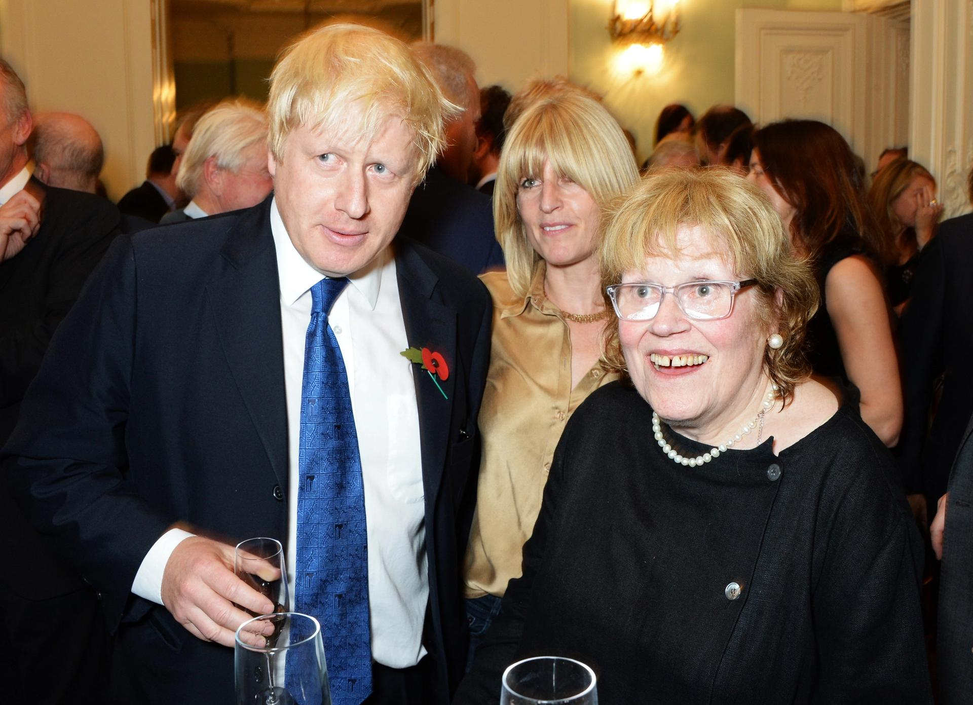 Boris Johnson's mother Charlotte Wahl is an Expressionist artist © David M. Benett/Getty Images