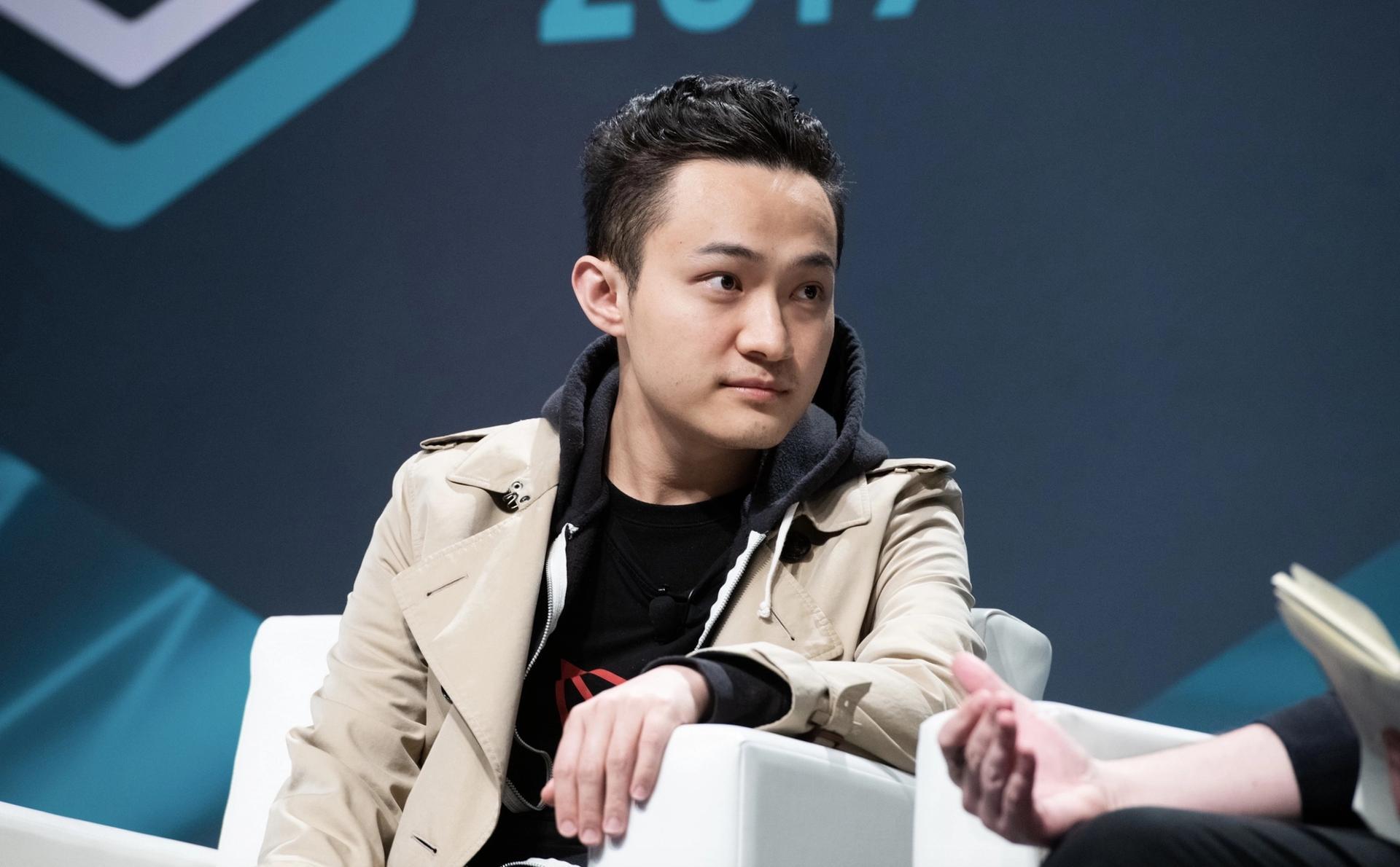 31-year-old TRON blockchain founder Justin Sun Wikipedia