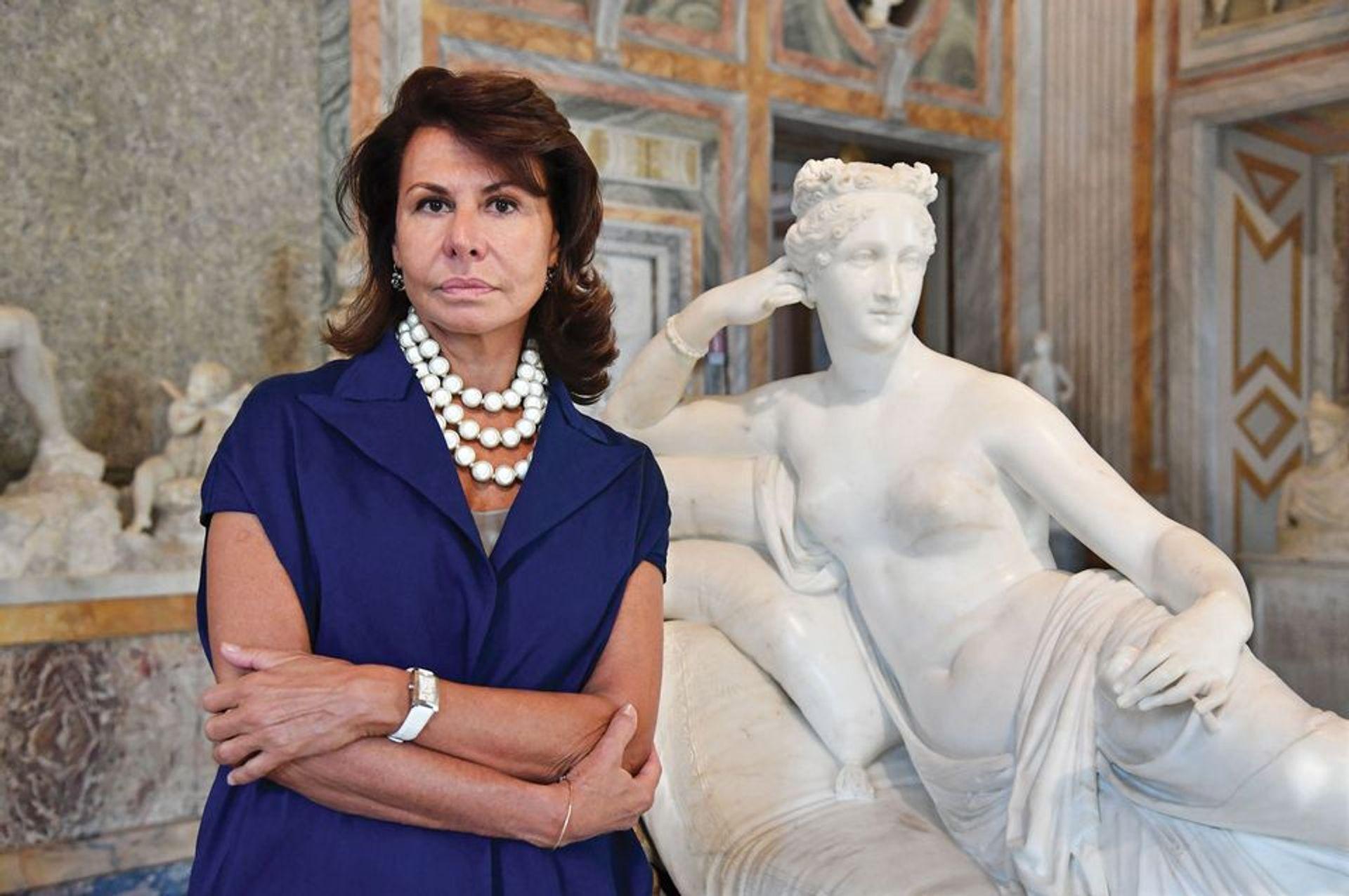 Anna Coliva has fallen foul of Italy's Kafka-esque bureaucracy Maria Laura Antonelli/Rex/Shutterstock