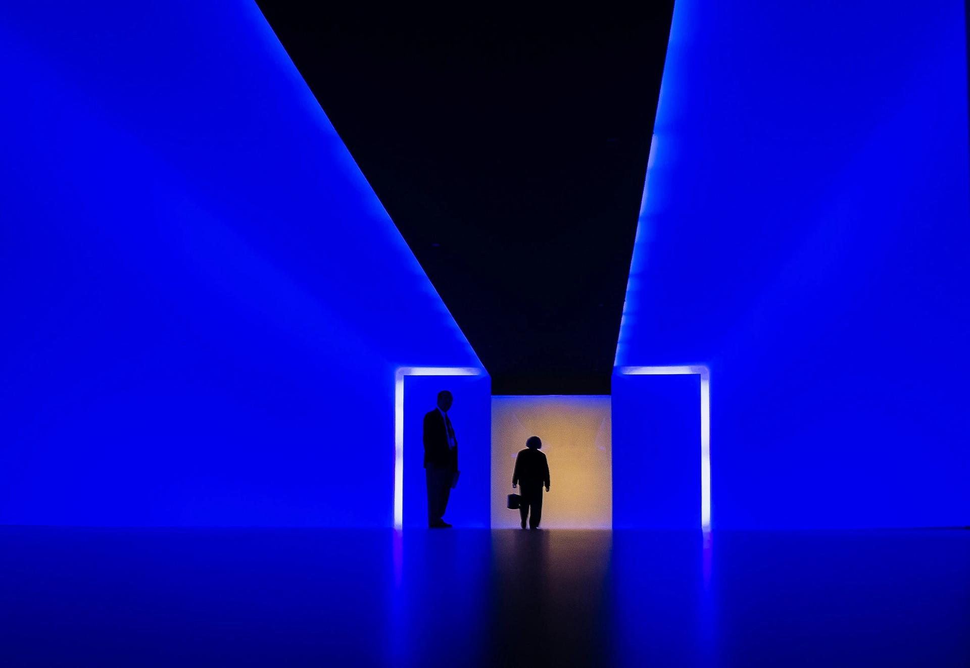 A James Turrell installation at the Museum of Fine Arts, Houston Photo: garagemonster