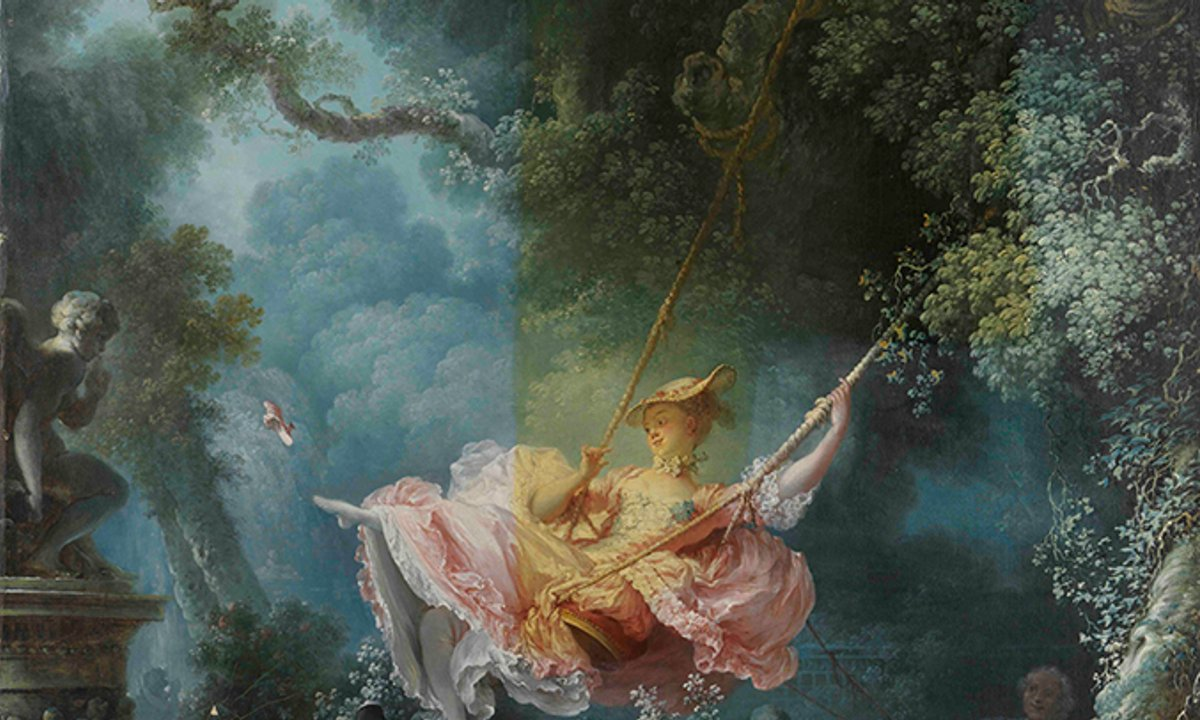 Fragonard's The Swing has been restored—and it's saucier than ever