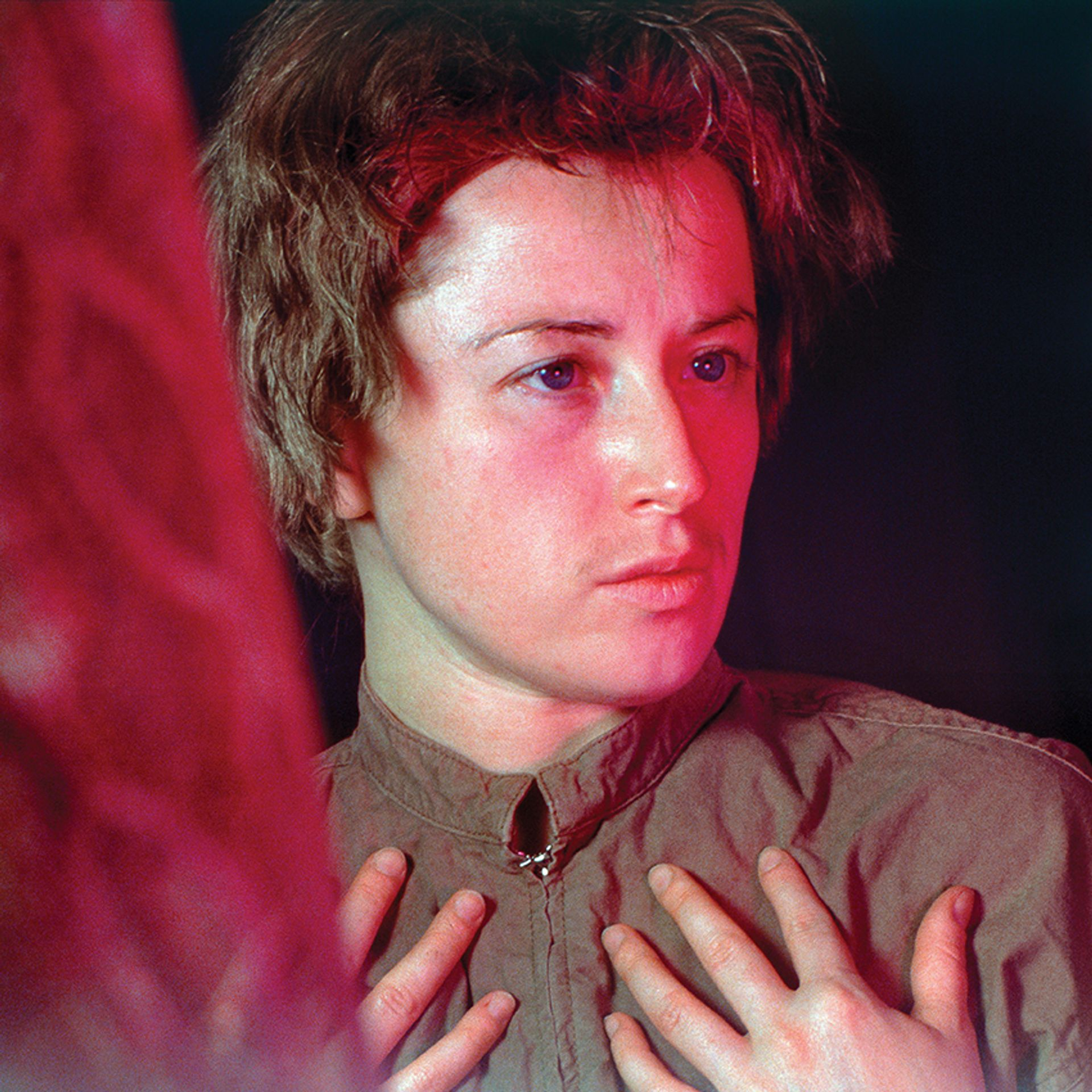 Untitled #109 (1982) by Cindy Sherman, one of nine women artists in the Close-Up exhibition at the Beyeler Foundation © 2021 Cindy Sherman