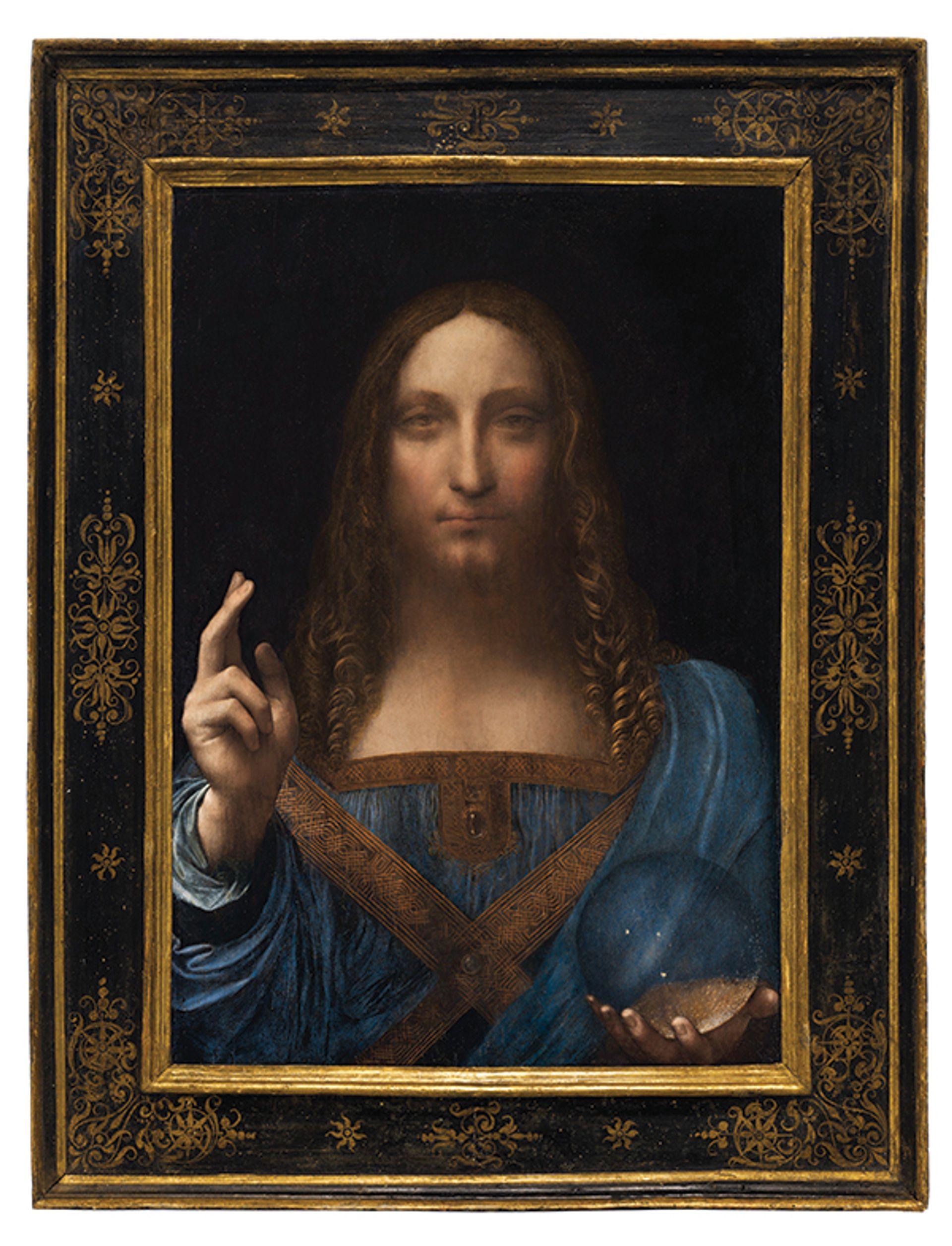 Leonardo da Vinci's Salvator Mundi Christie's Images, 2017