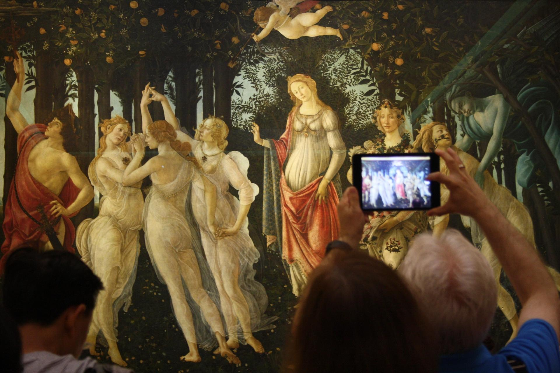 The Uffizi will employ a queue-cutting algorithm to regulate flow of visitors © Dim 7