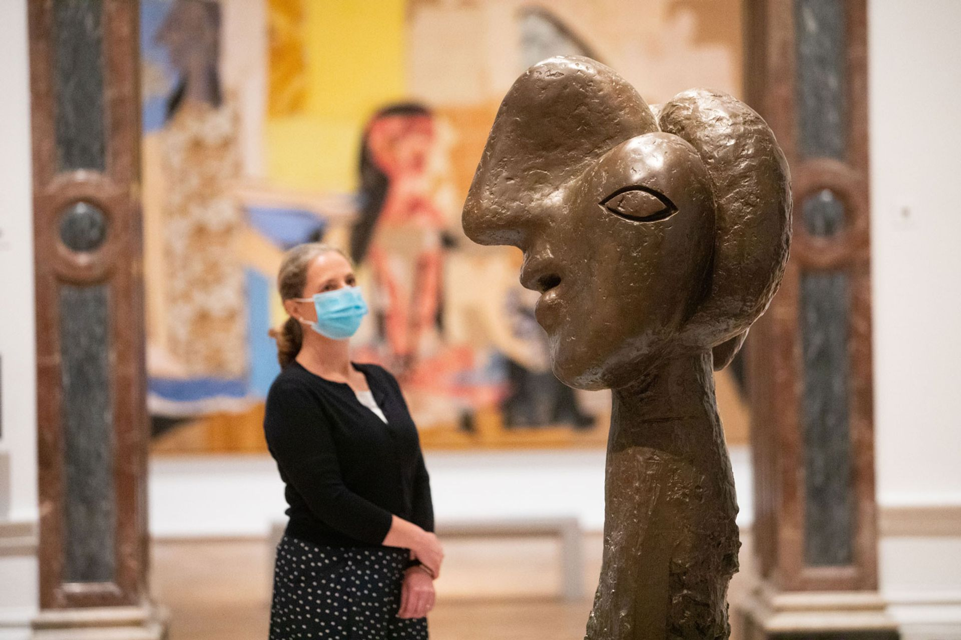 The Picasso and Paper exhibition has reopened at the Royal Academy of Arts © David Parry/Royal Academy of Arts