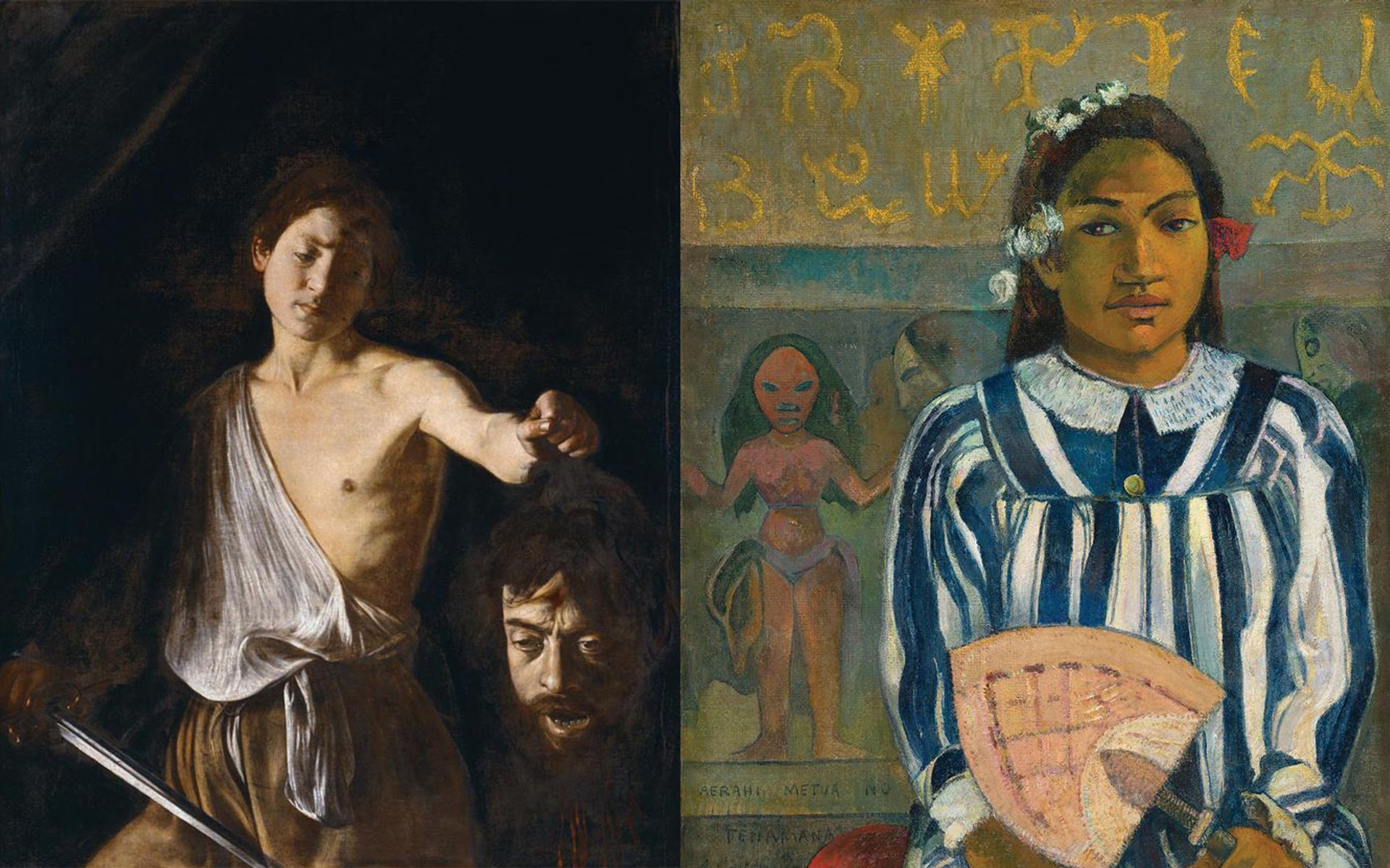 Immoral artists? Caravaggio, who murdered a man, and Gauguin, who had relationships with underage girls in Tahiti