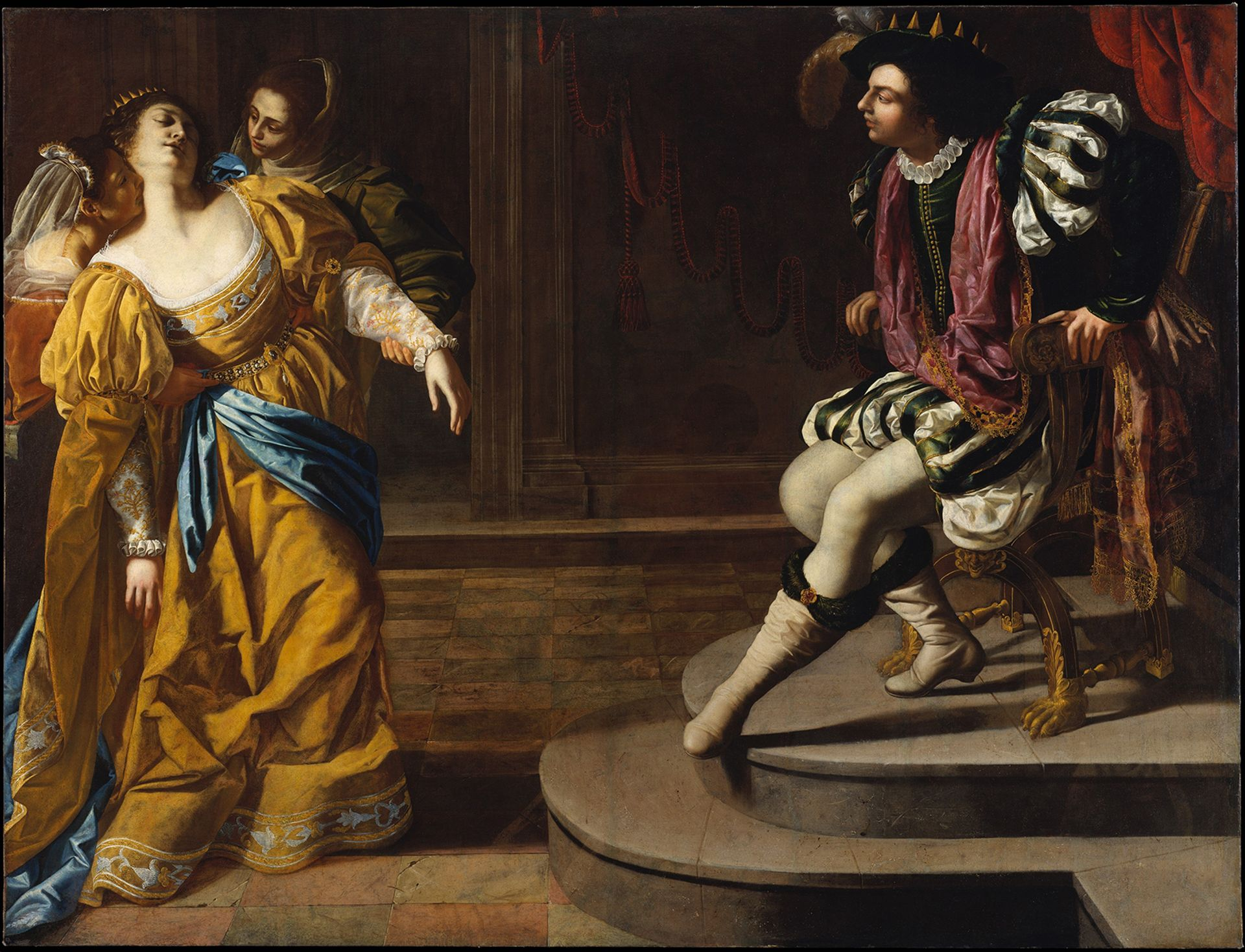 The Met's new admissions policy is not for the faint of heart (Above, Esther before Ahasuerus, by Artemisia Gentileschi) Courtesy of the Metropolitan Museum of Art, New York