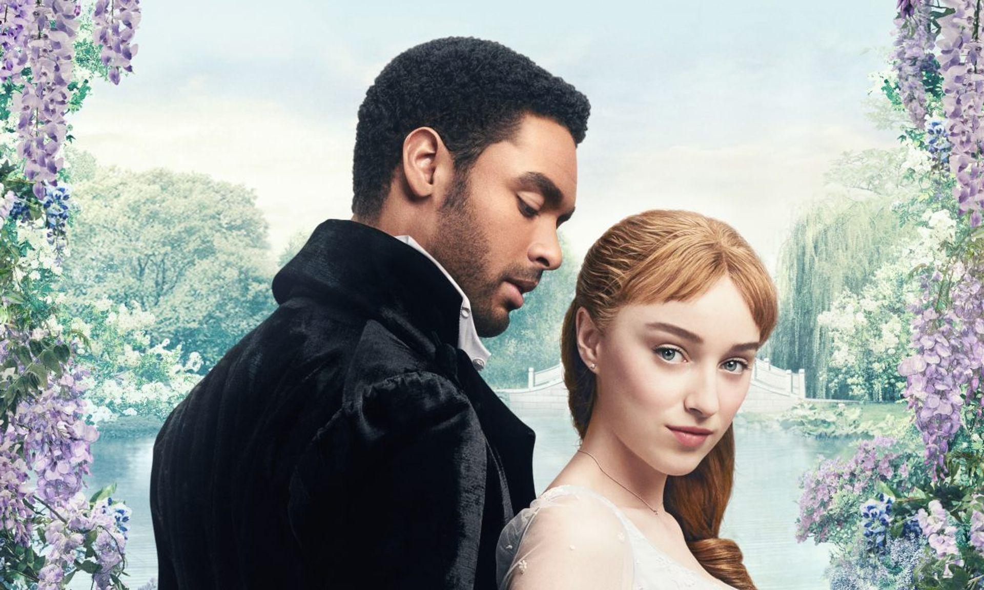 The Duke & Daphne in Bridgerton courtesy Netflix
