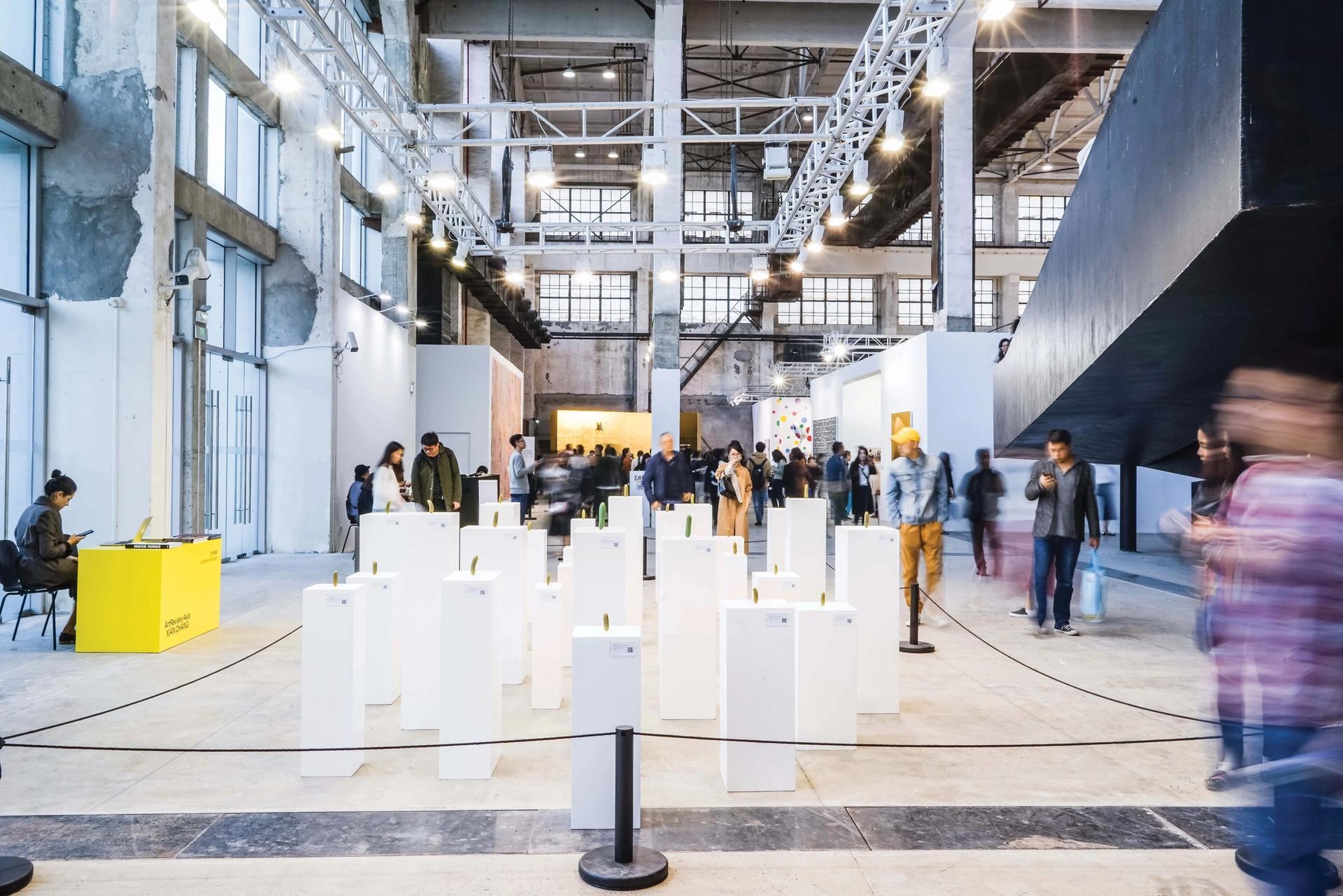 West Bund Art & Design fair in Shanghai Courtesy of West Bund Art & Design