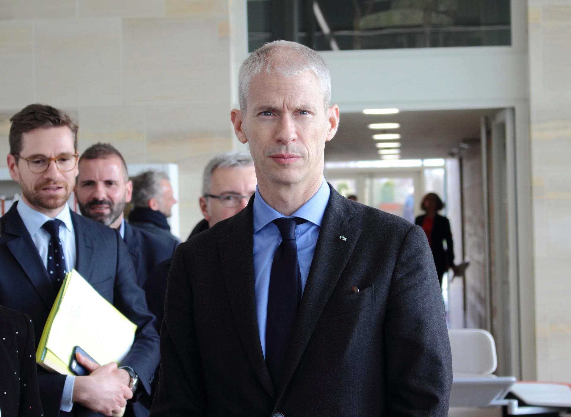 French culture minister Franck Riester Photo: ActuaLitté via Flickr