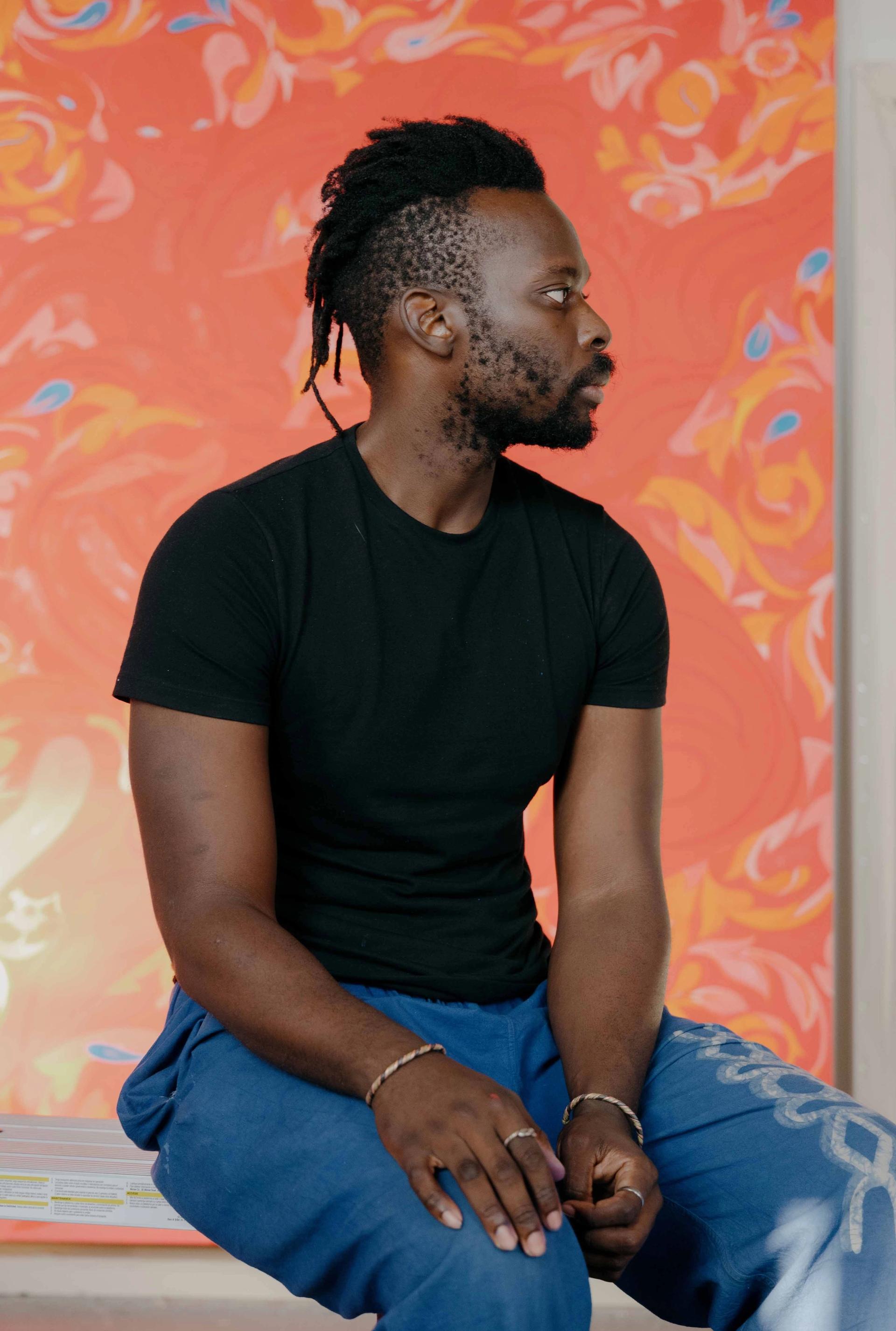 Tunji Adeniyi-Jones Courtesy of White Cube, photo by William Jess Laird