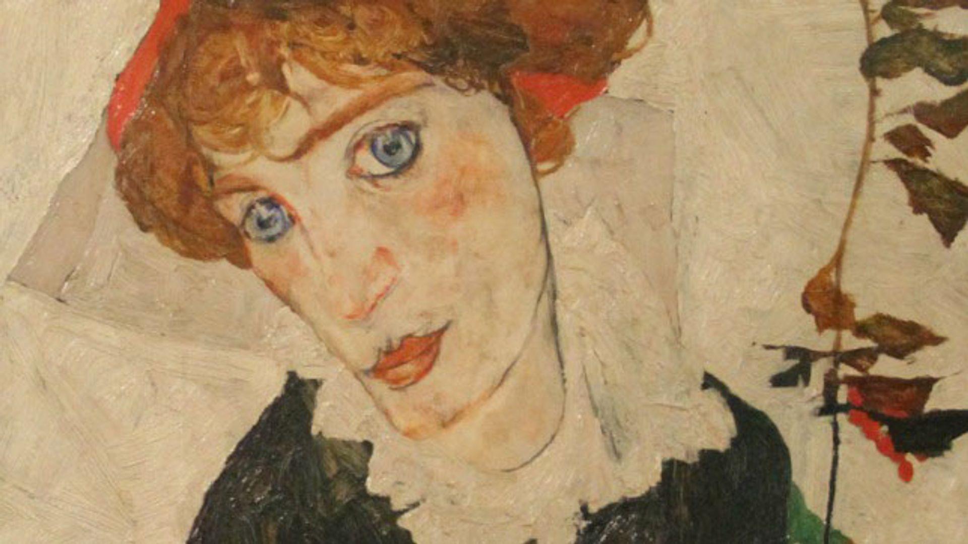 Egon Schiele's Portrait of Wally (1912)
