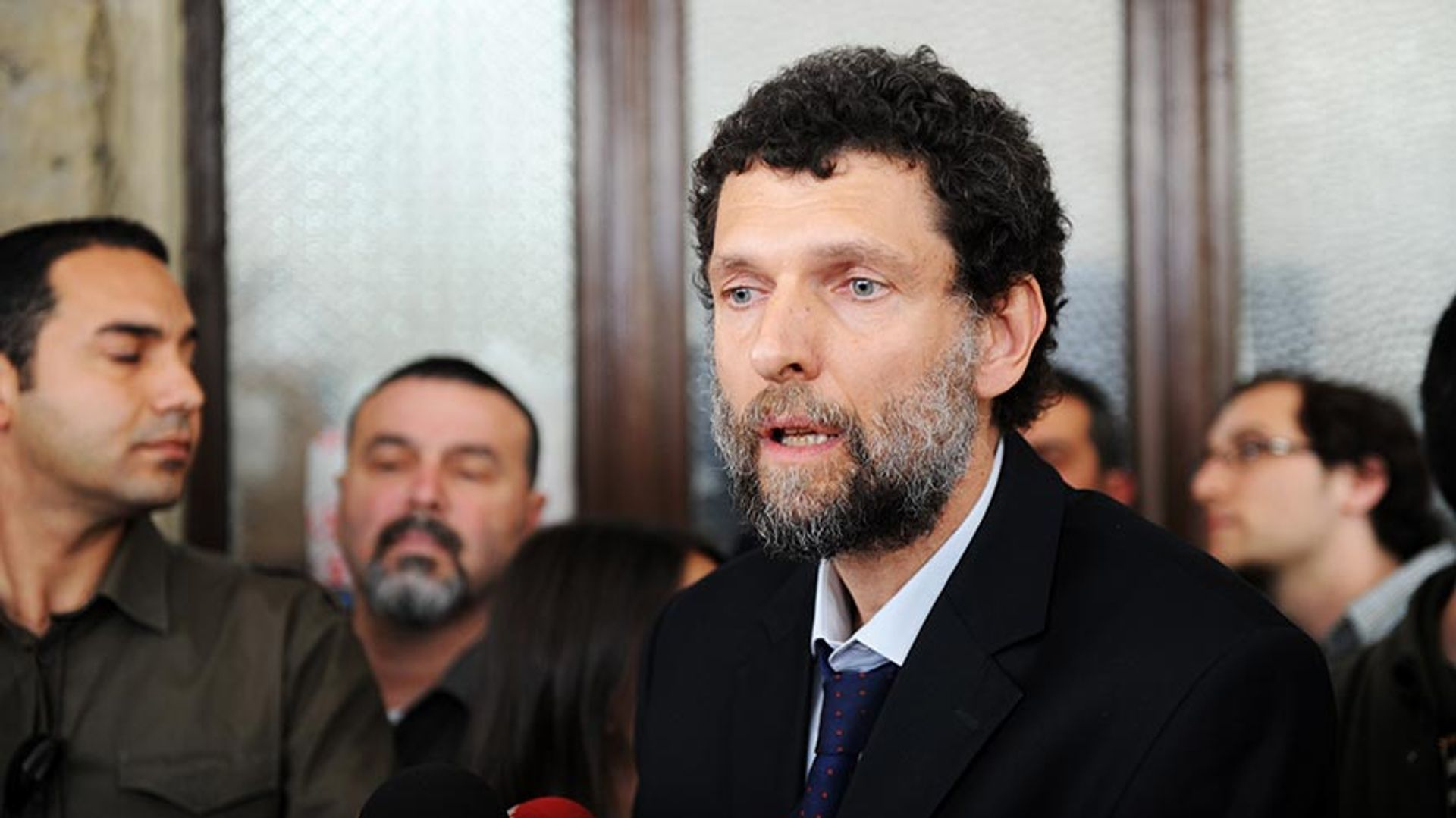 Osman Kavala has been detained in prison without conviction for nearly four years Courtesy of Council of Europe