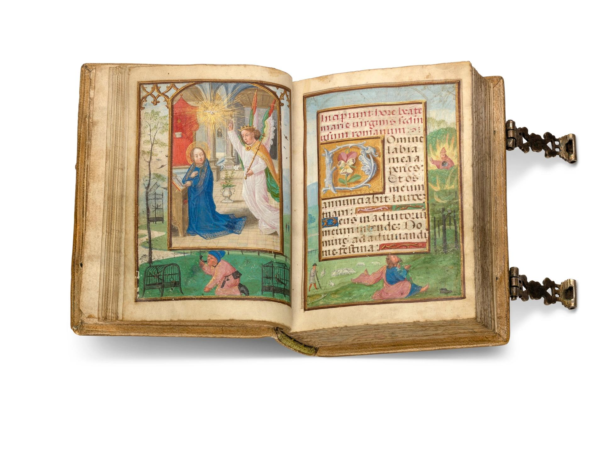 The Book of Hours of Charles V, Gerard Horenbout(around 1515) Courtesy Christie's