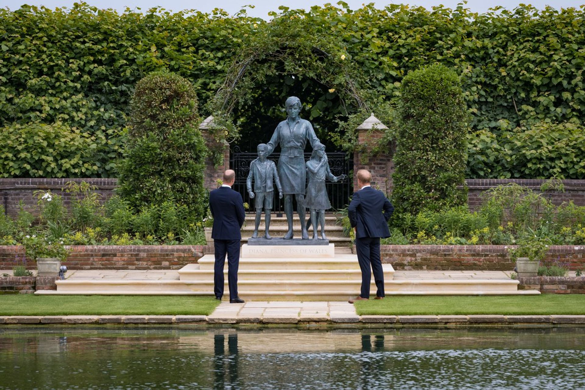 Princess Diana, Ian Rank-Broadley courtesy Kensington Palace