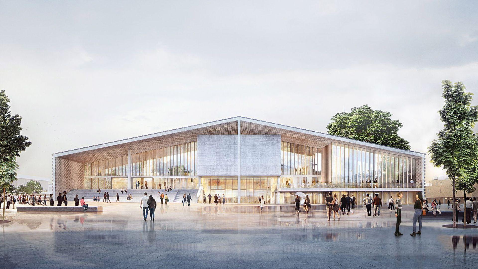 Herzog & de Meuron's revised plans for Museum of the 20th century in Berlin © Herzog & de Meuron