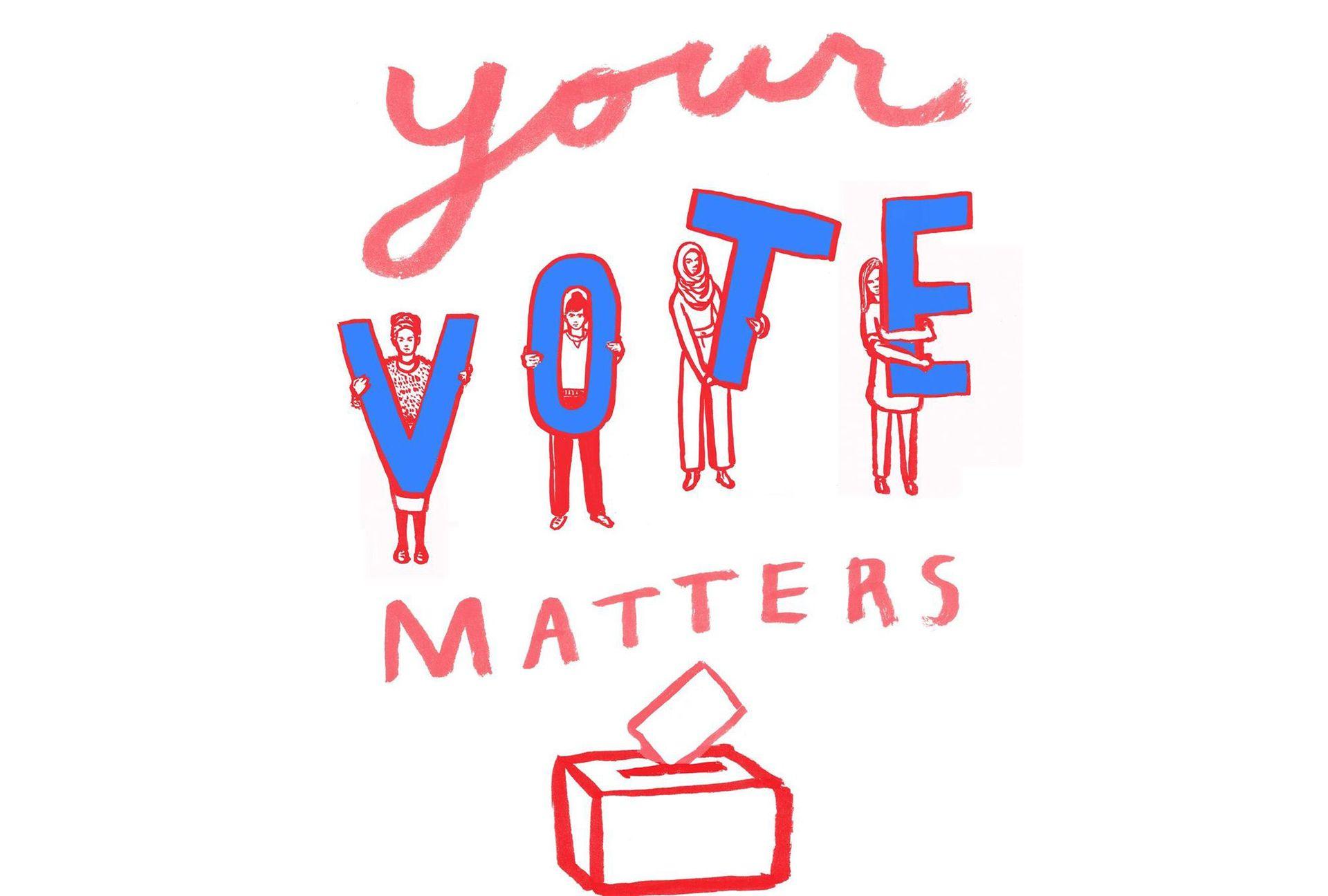 Your Vote Matters Image by: Lauren Simkin Berke @lsberke for @amplifyart