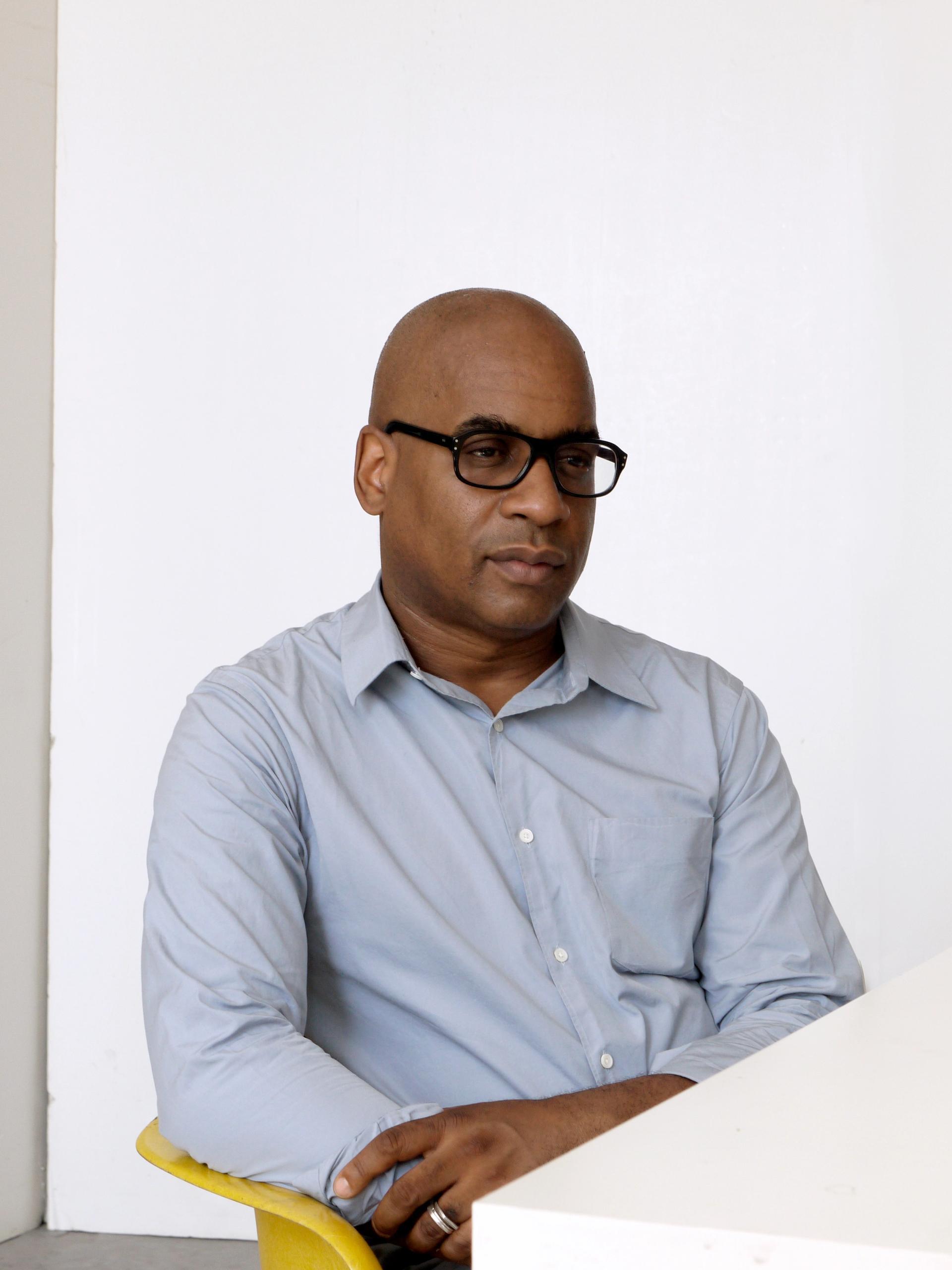 Portrait of Glenn Ligon Photo: Paul Mpagi Sepuya. Courtesy the artist and Hauser & Wirth