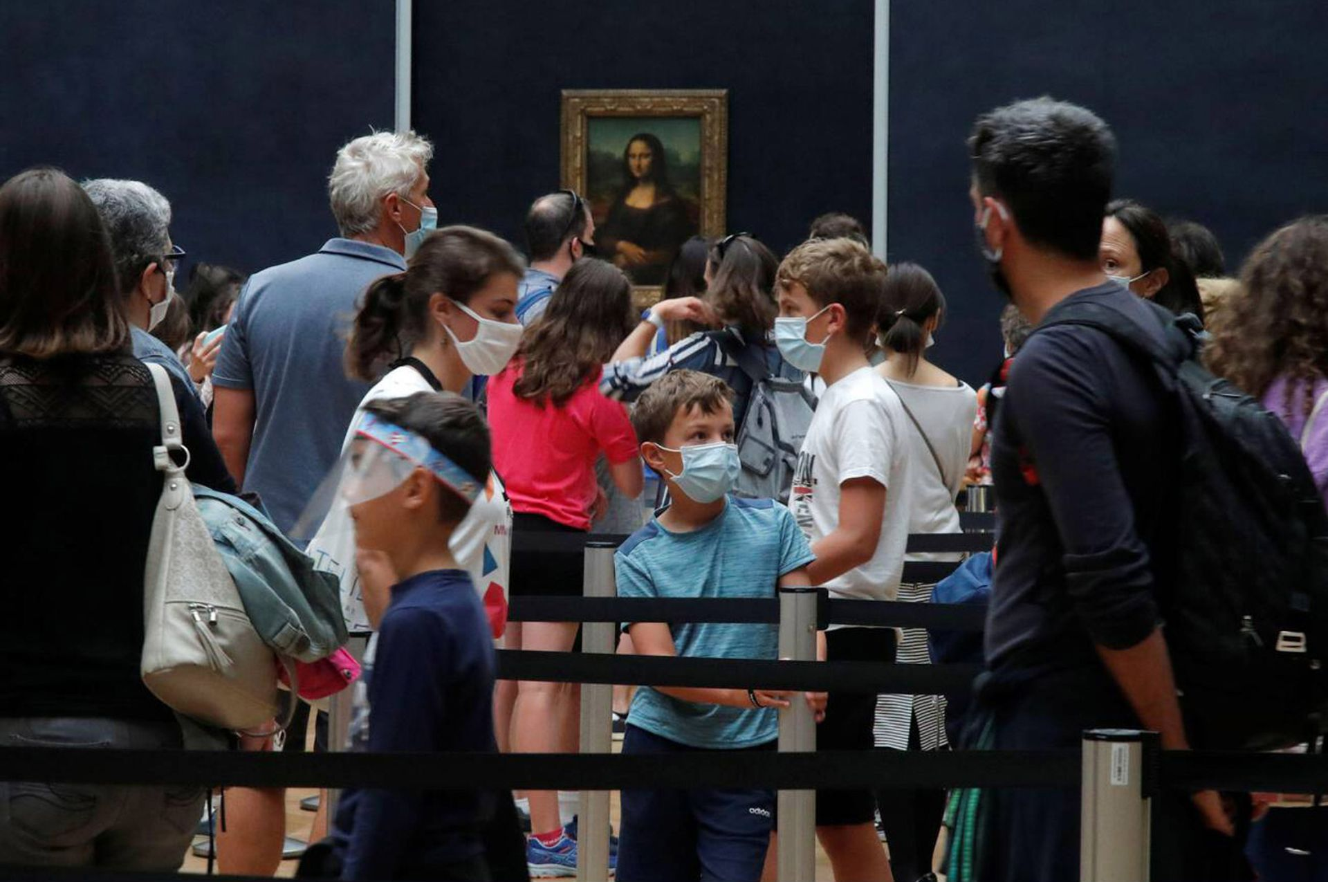 The Musée du Louvre in Paris was the most visited museum in 2020, with its blockbuster Leonardo exhibition attracting more than 10,000 a day. Overall, 2.7 million people visited the museum—72% fewer than in 2019 Reuters/Alamy Stock Photo