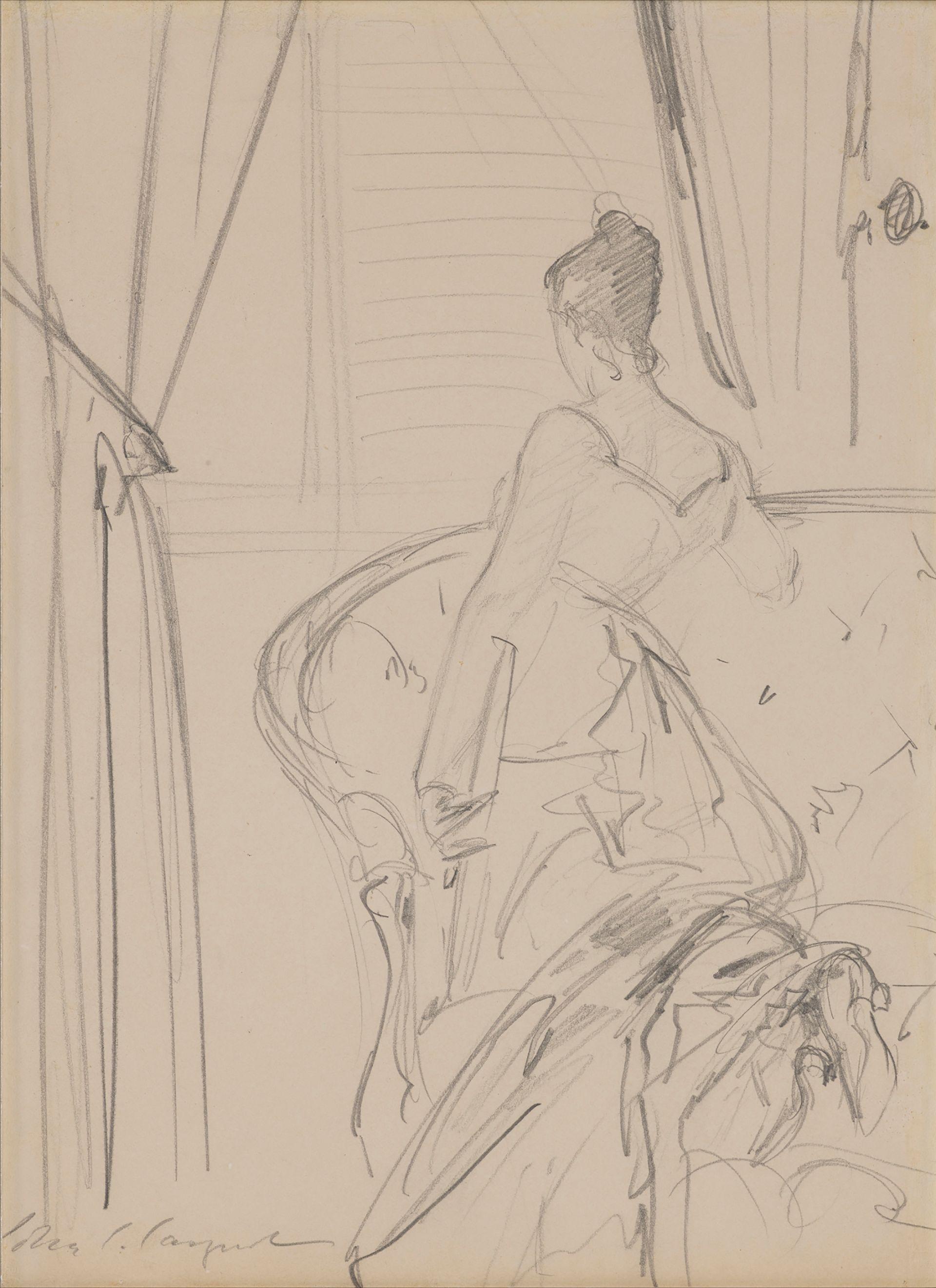 John Singer Sargent's Virginie Amélie Avegno, Mme. Gautreau (Mme. X), from around 1884 Photo: Joseph Coscia Jr