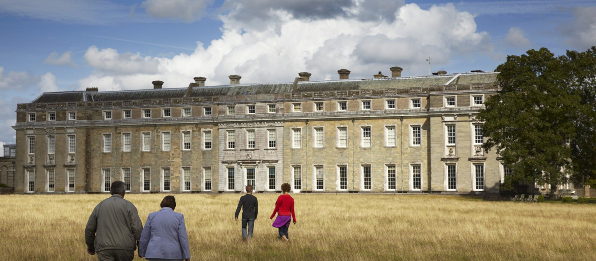 The west front of Petworth House in West Sussex, England, which is owned by the National Trust © National Trust