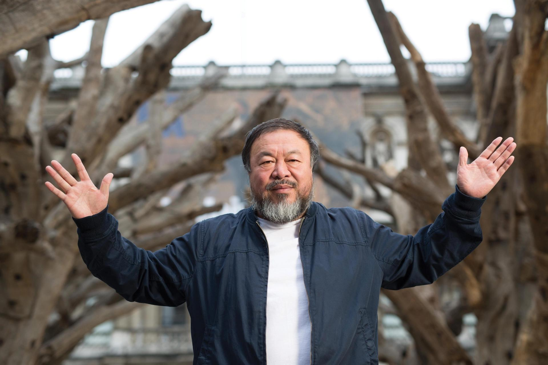 Ai Weiwei says art institutions that collaborate with the Chinese governments are complicit in their politics Photo: Dave Parry