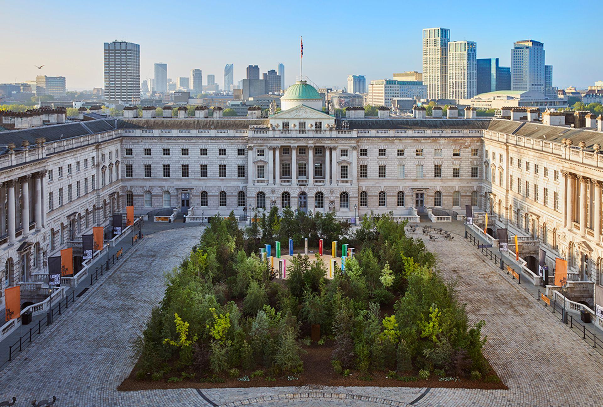 Forest for Change, The Global Goals Pavilion, Es Devlin Ed Reeve