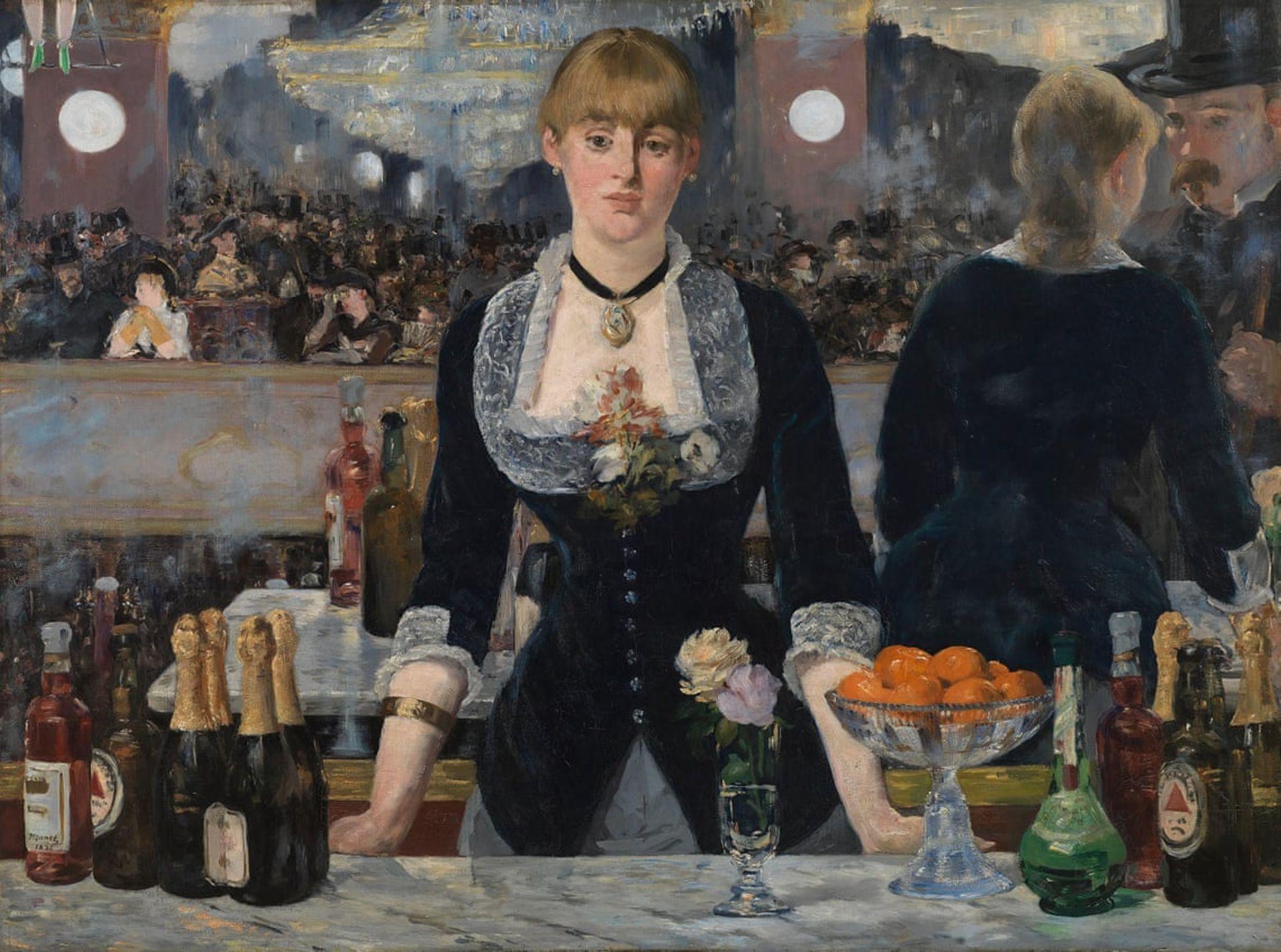 Edouard Manet's A Bar at the Folies-Bergère (1882) Samuel Courtauld Trust/Courtauld