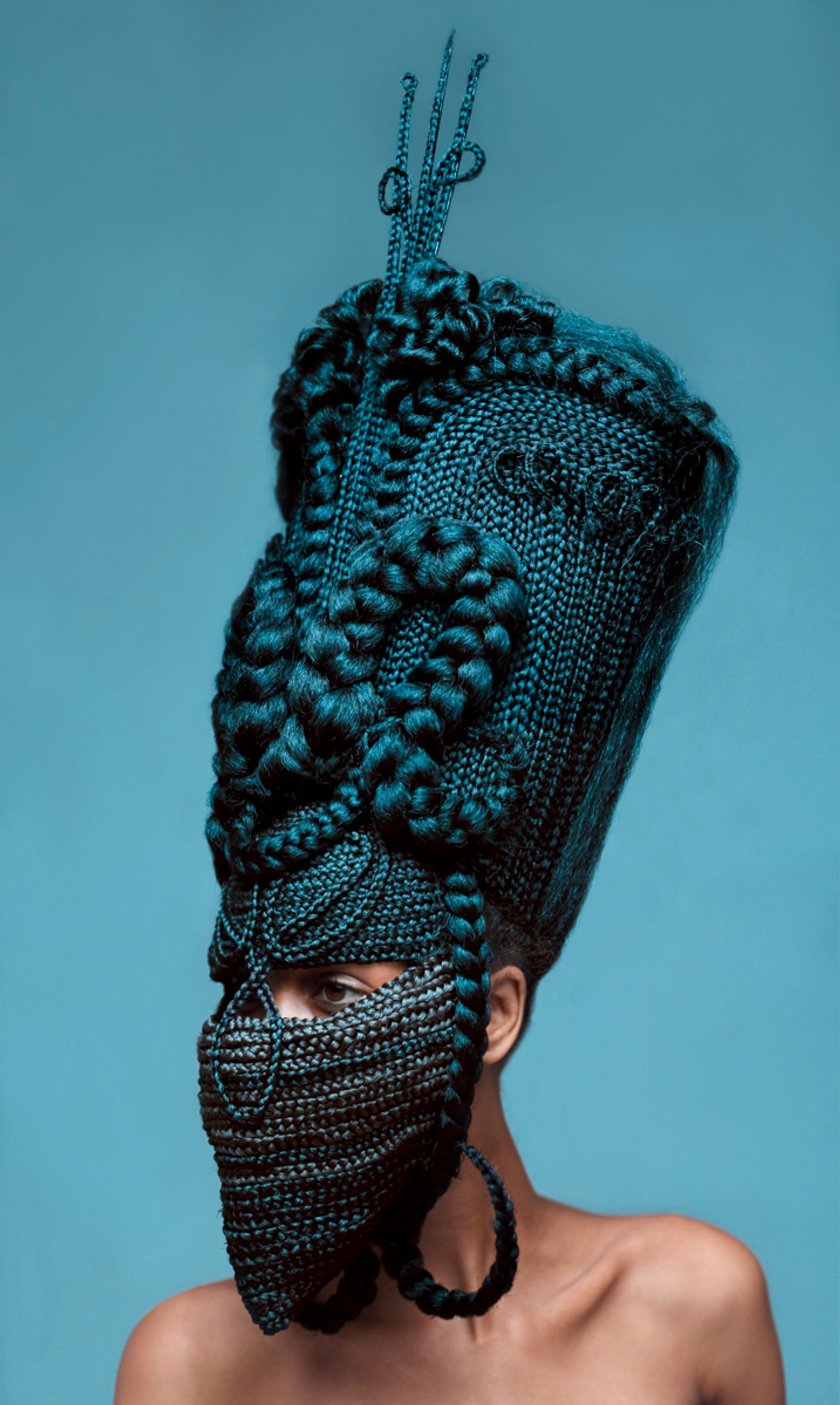 Delphine Diallo's Highness Blue will be included in The Stand's first auction this month Courtesy of the artist and MTArt Agency