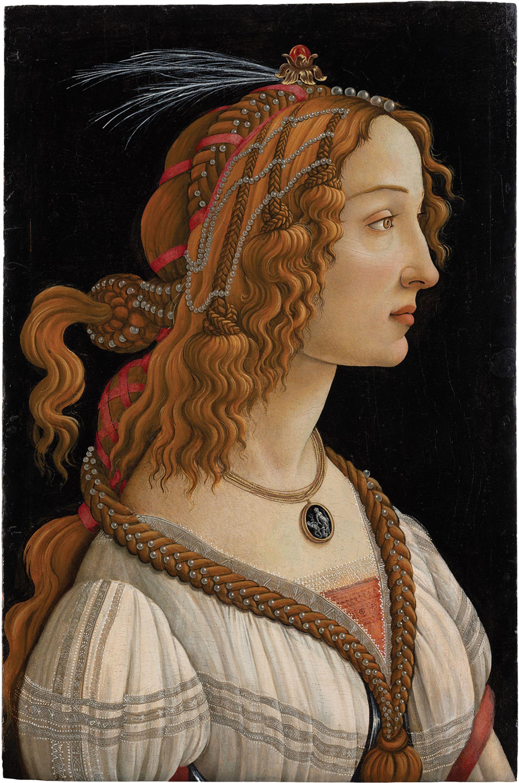 Botticelli's La Bella Simonetta (around 1480) is one of several major works in the show CC BY-SA 4.0 Städel Museum, Frankfurt