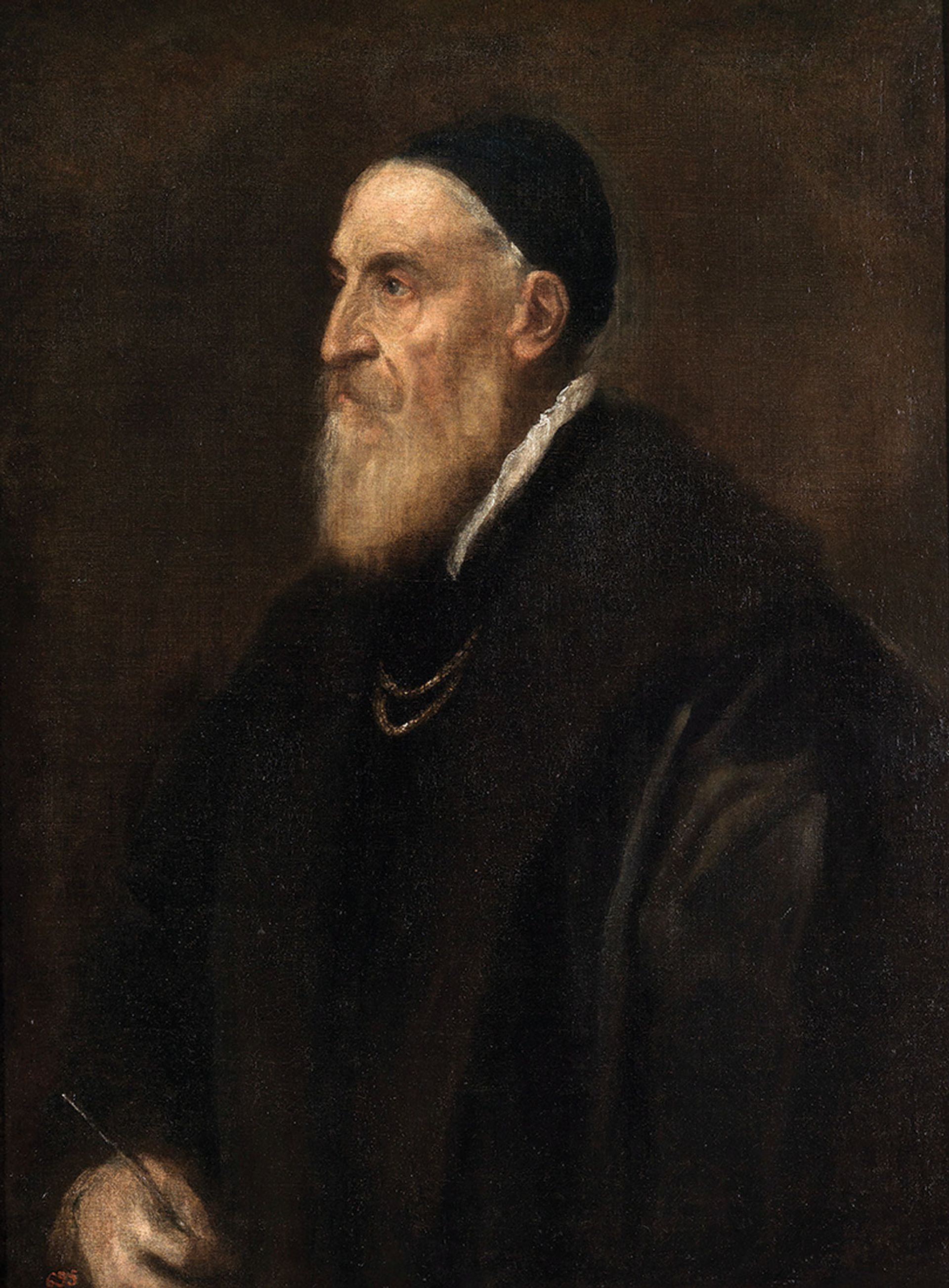 Titian's Self-Portrait (around 1567) Museo del Prado, Madrid