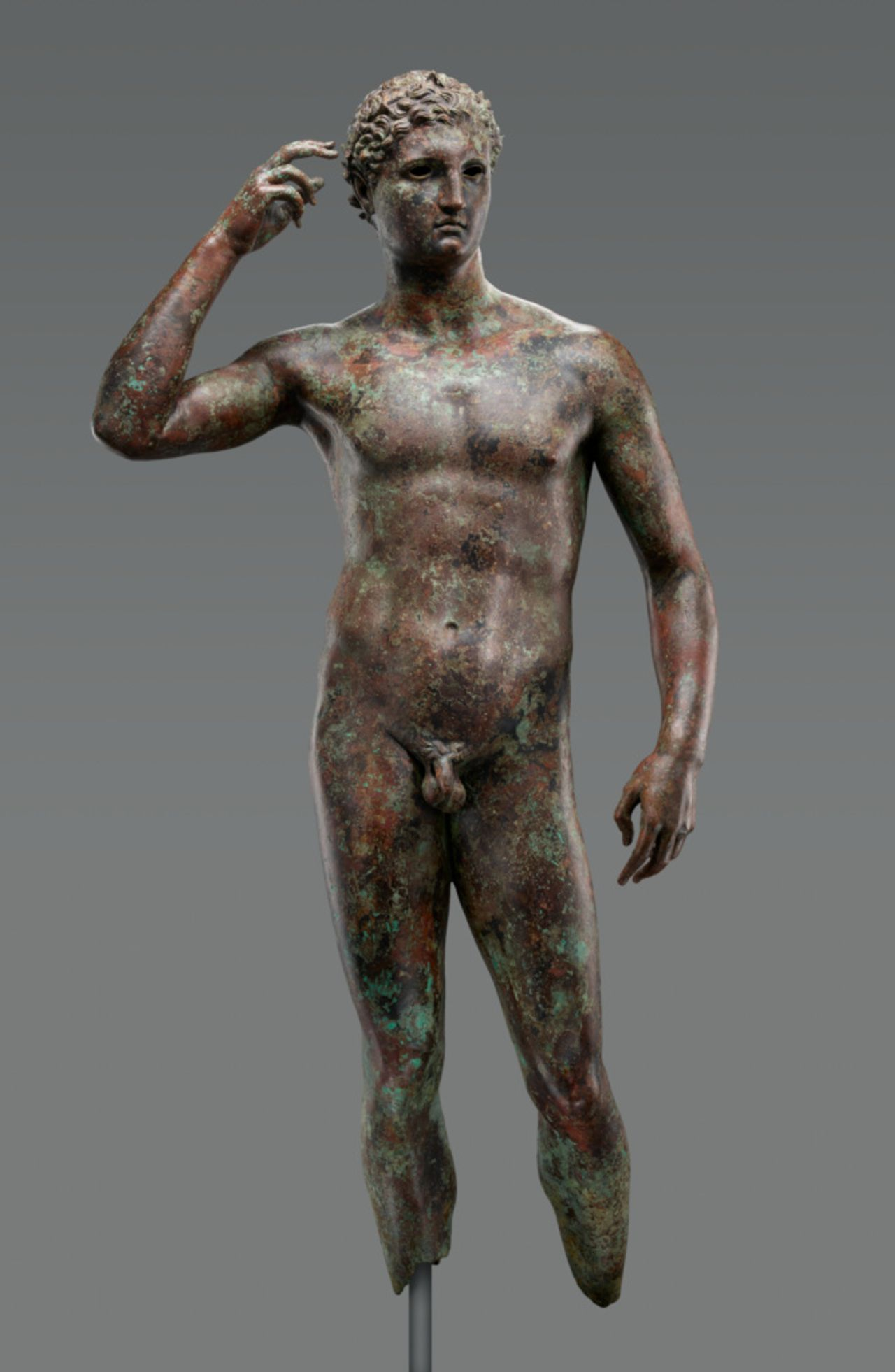 The J. Paul Getty Museum's Statue of a Victorious Youth , 300–100BC J. Paul Getty Museum