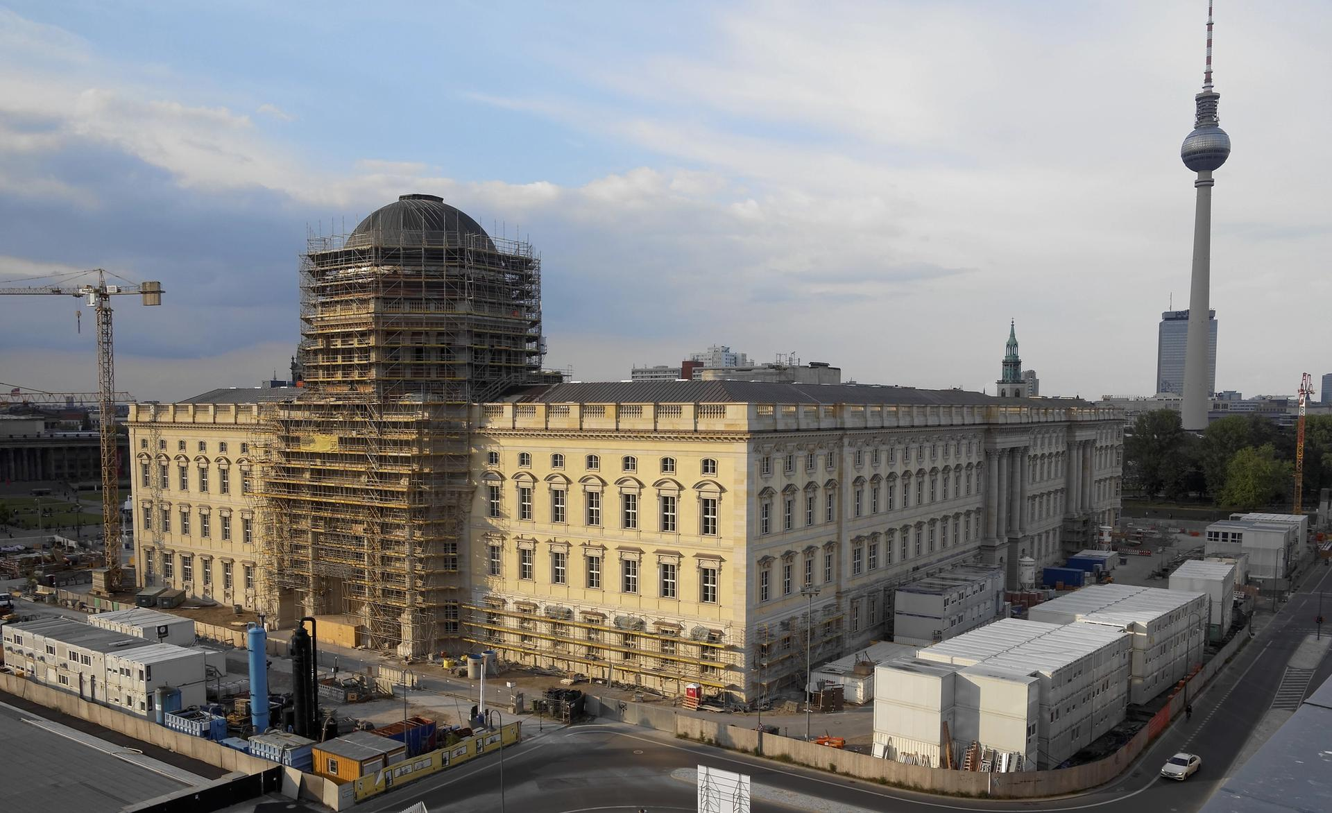 """Officials say it is """"not realistic"""" to open the Humboldt Forum in 2019 © SHF"""