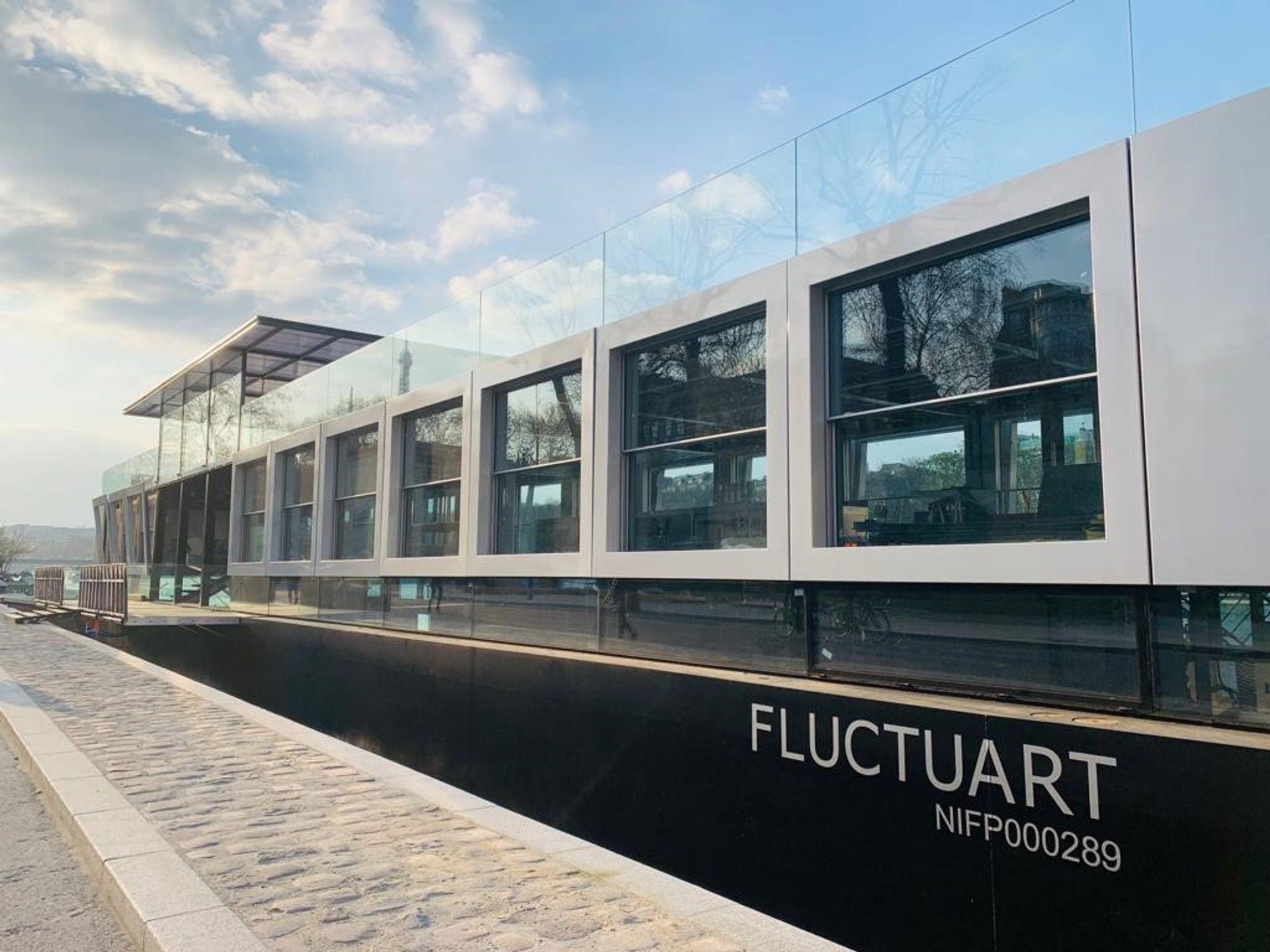 Fluctuart opens on 4 July © fluctuart