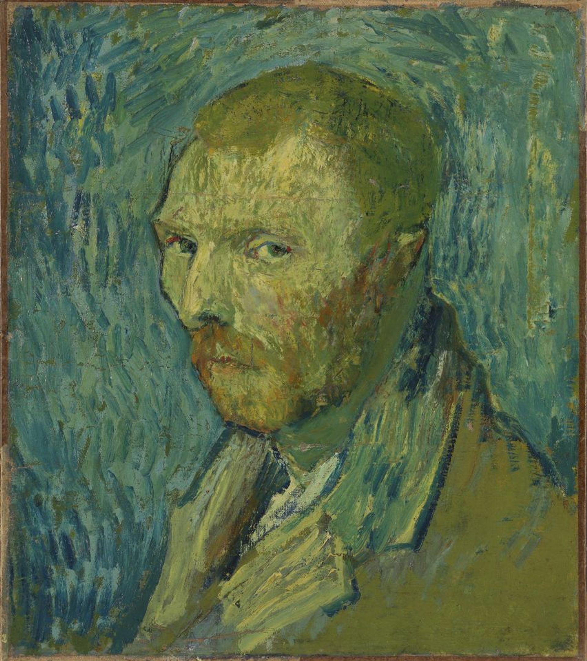 Vincent van Gogh's Self-portrait (1889) Courtesy of Nasjonalmuseet for Kunst, Arkitektur og Design, Oslo (F528)