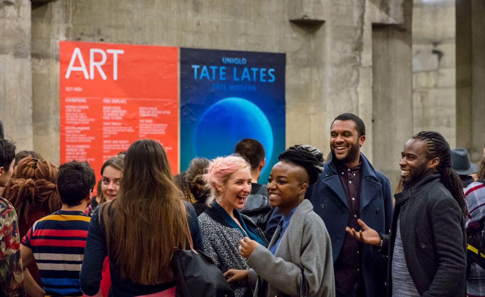Uniqlo Tate Late Tate. Photo: Dan Weill