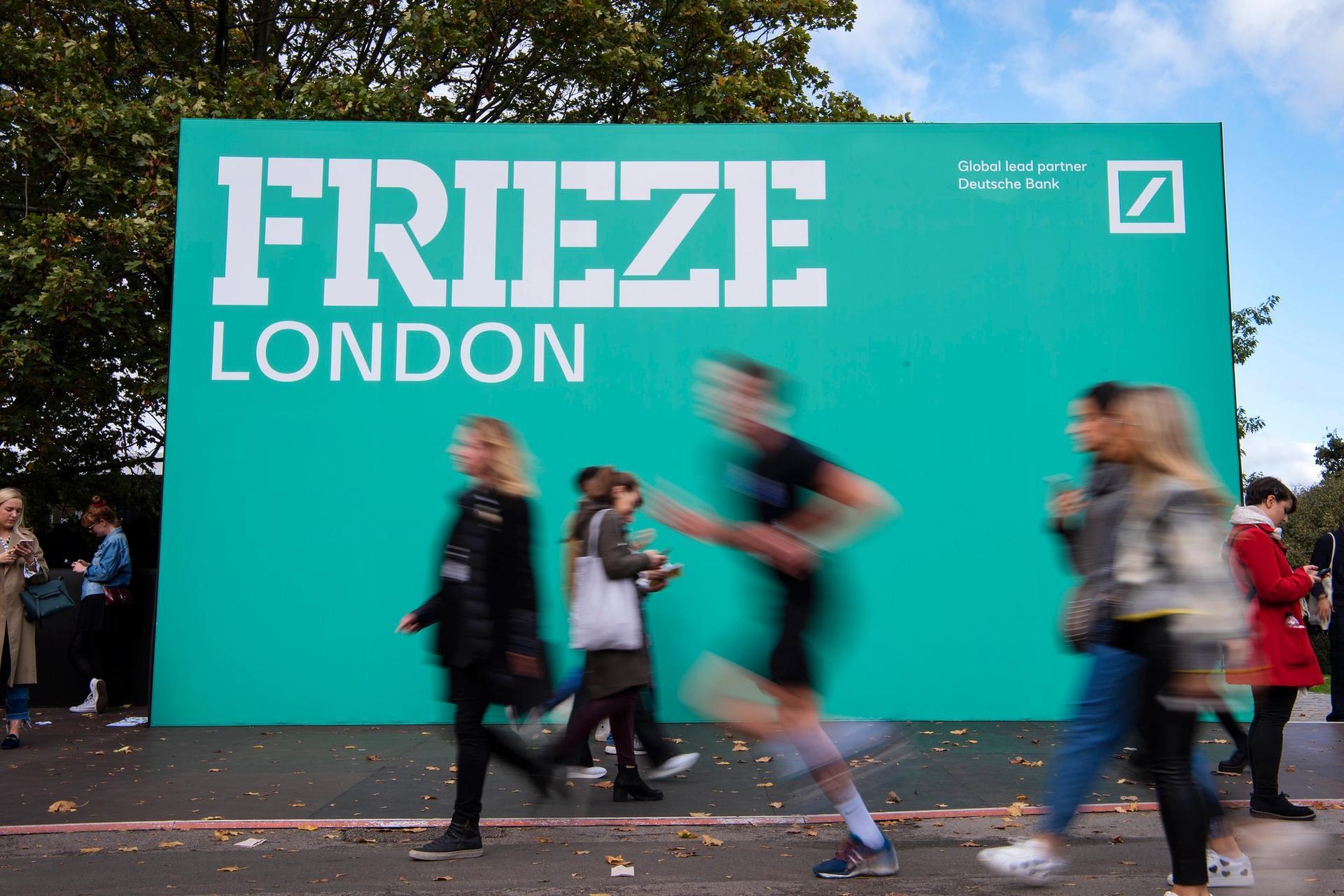 Frieze London in 2019 Photo by Linda Nylind. Courtesy of Linda Nylind/Frieze