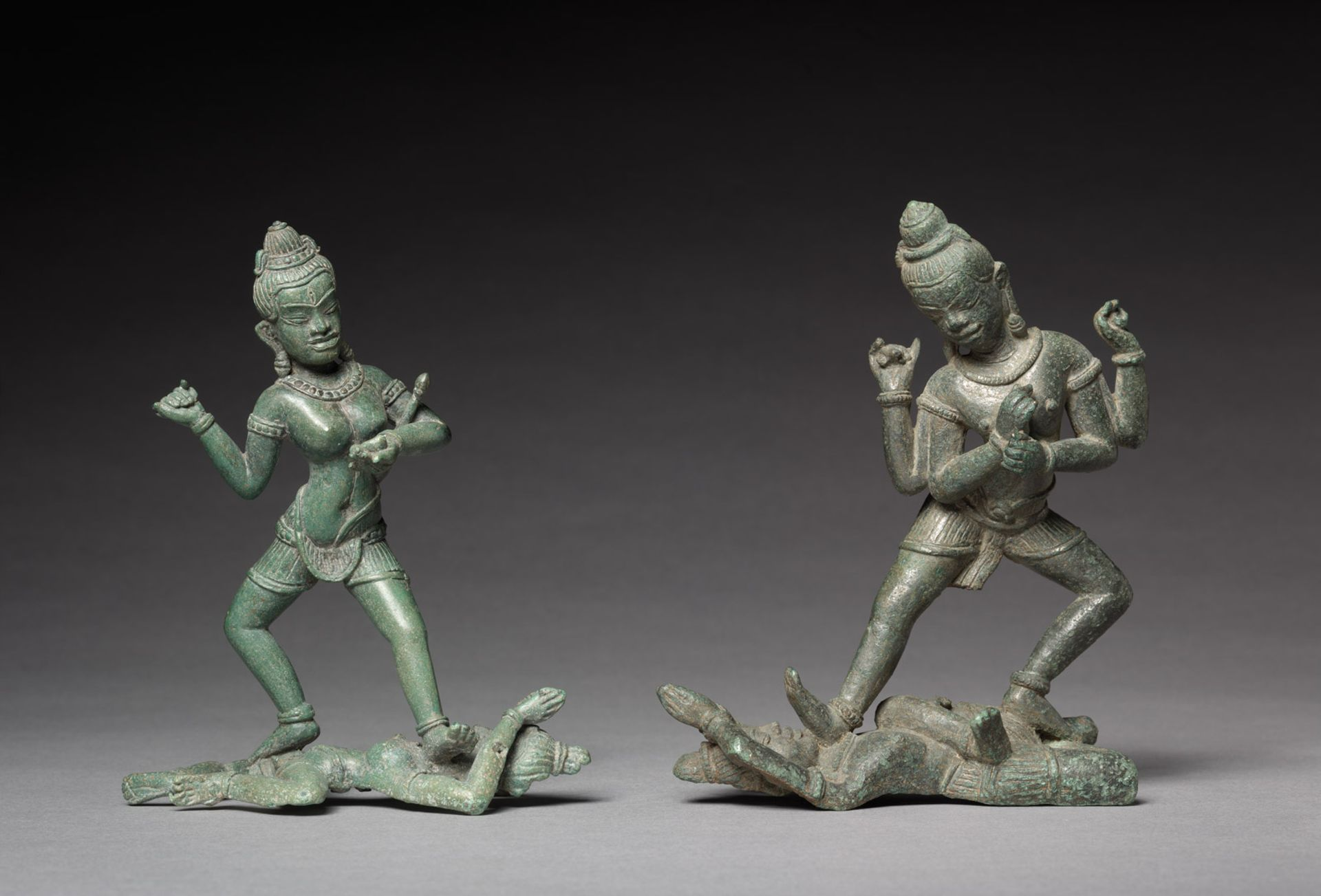Shamvara and A Dakini (around 1100) was donated to the Cleveland Museum of Art by Douglas Latchford in 1983 Creative Commons, courtesy Cleveland Museum of Art