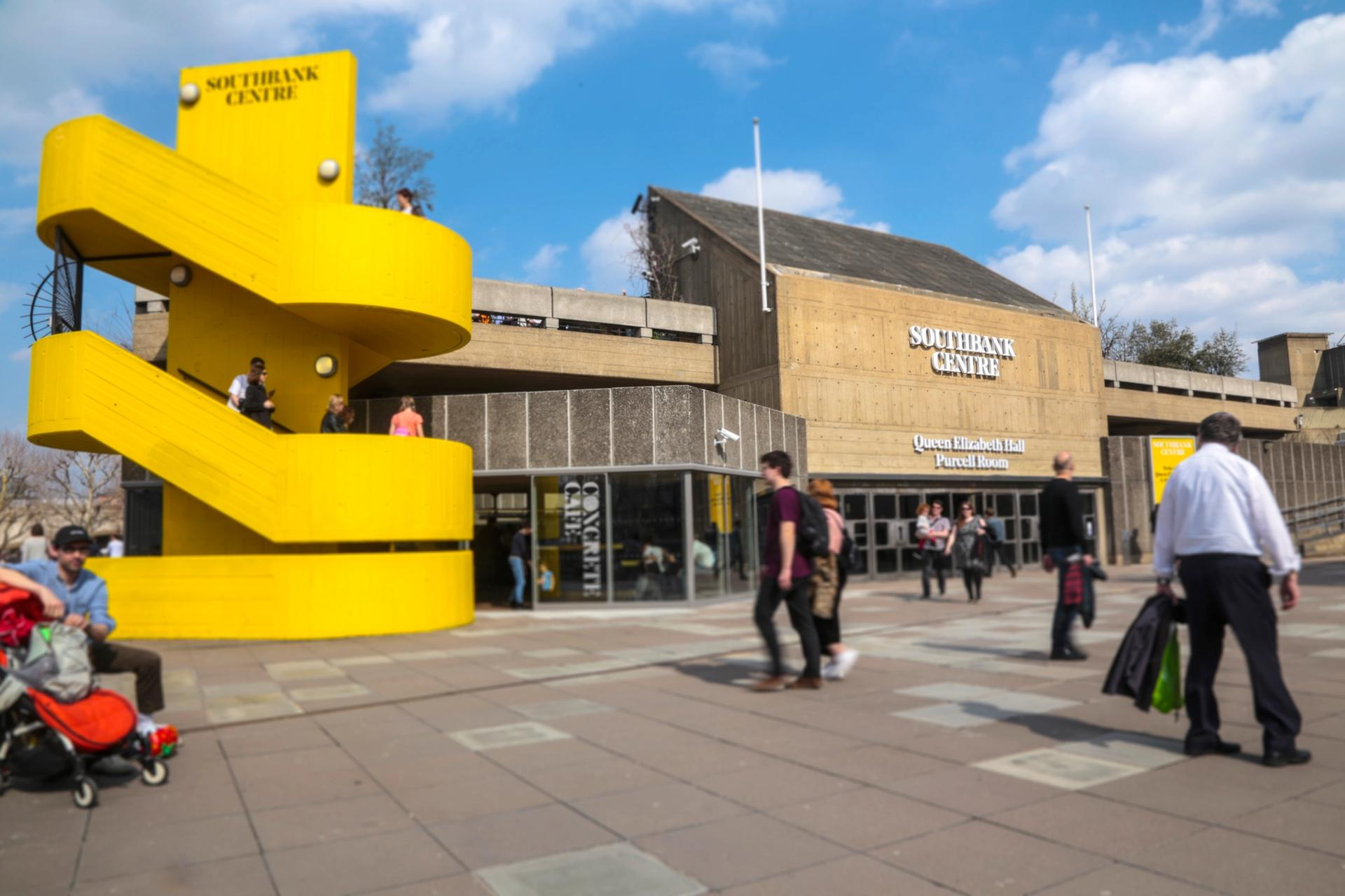 The Queen Elizabeth Hall at the Southbank Centre, London Photo: Southbank Centre/India Roper-Evans