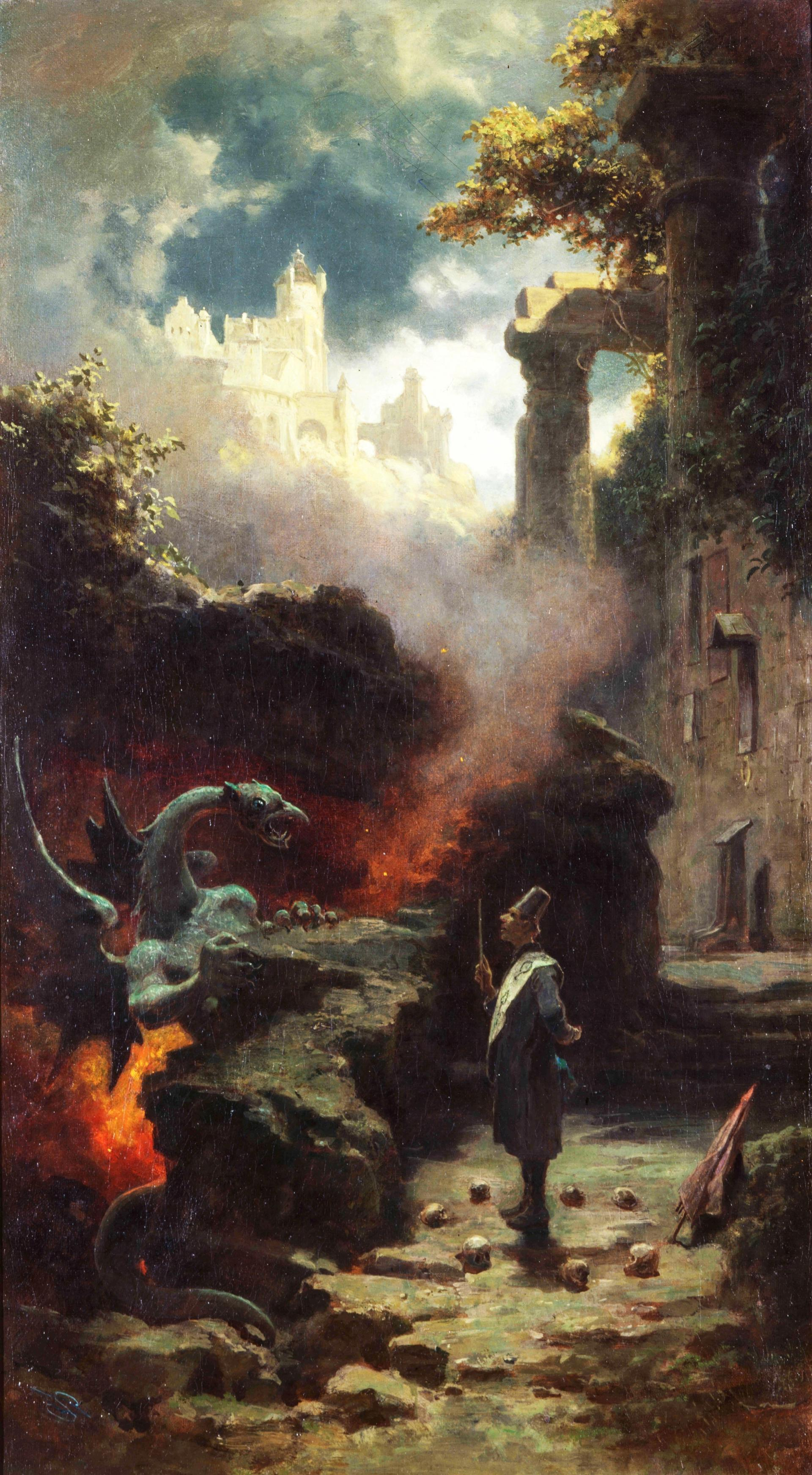 Carl Spitzweg's Der Hexenmeister has been returned to the heirs of Leo Bendel