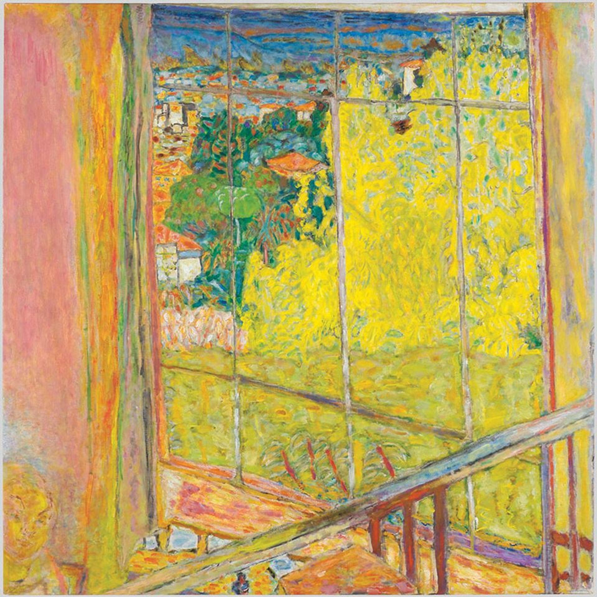 Pierre Bonnard's The Studio with Mimosa (1939-46) © Bertrand Prévost;  Centre Pompidou/MNAM-CCI/RMN-Grand Palais