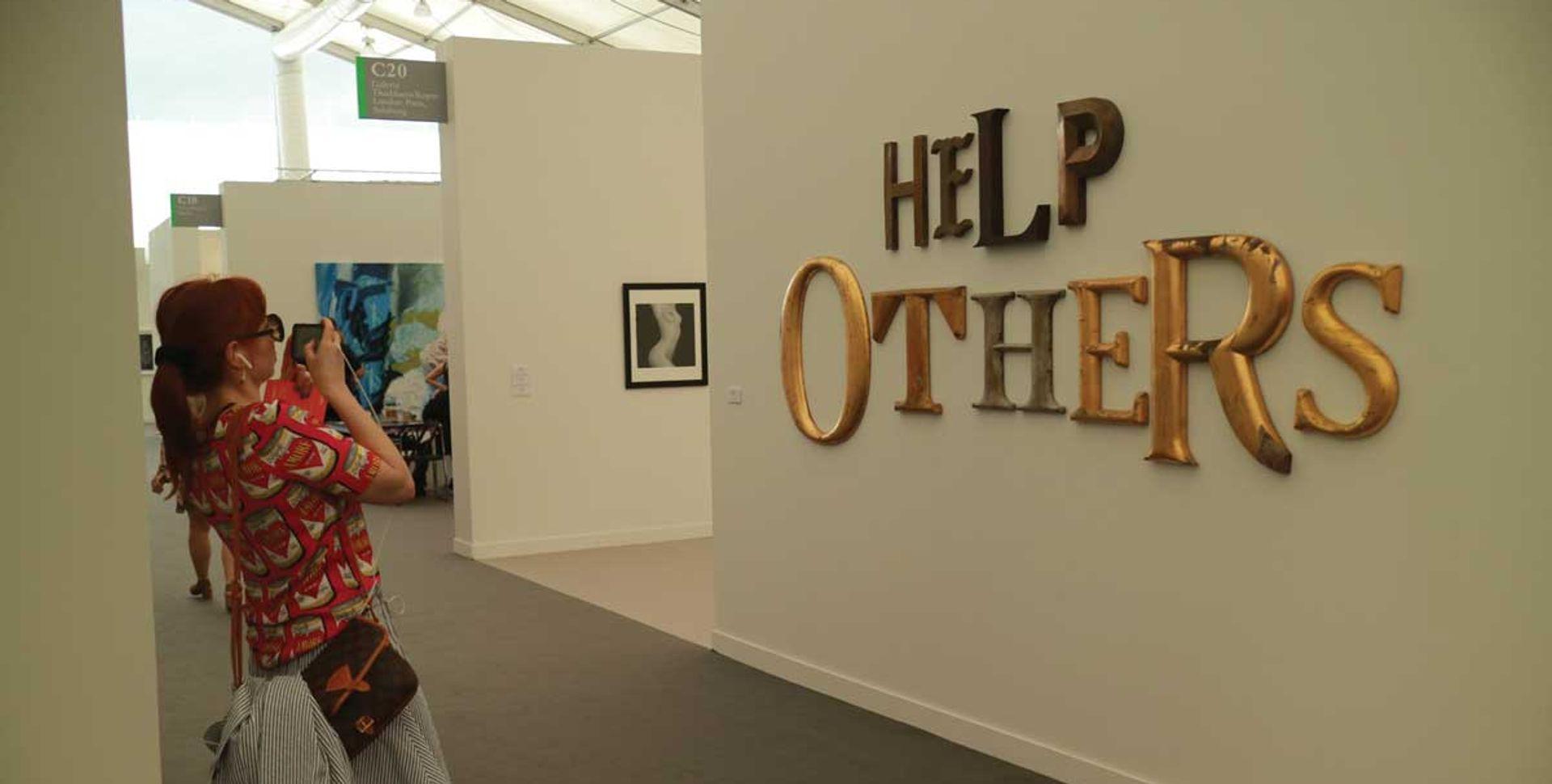 Jack Pierson, Help Others (2017) Casey Fatchett