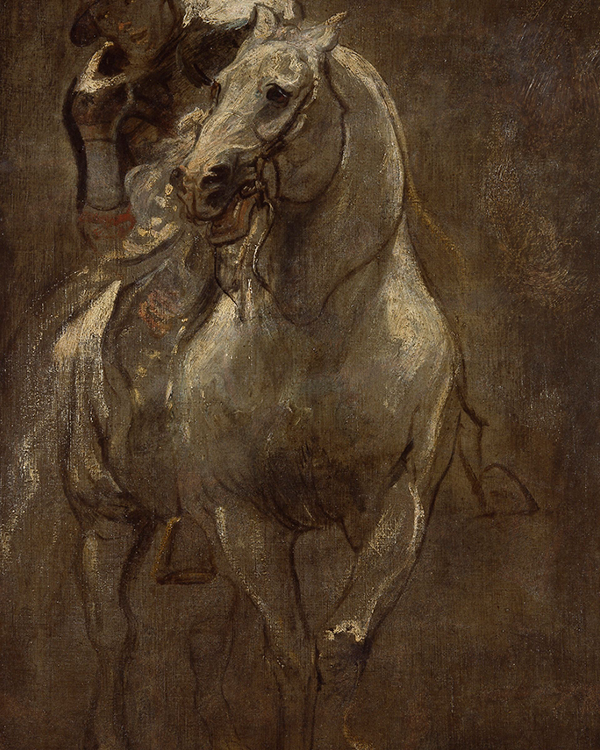 Antony Van Dyck's A Soldier on Horseback (around 1616) Courtesy of Thames Valley Police