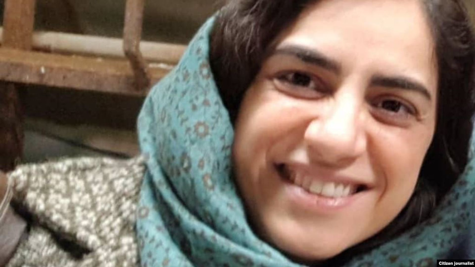 Aras Amiri was arrested in March 2018 while visiting her elderly grandmother in Iran Twitter