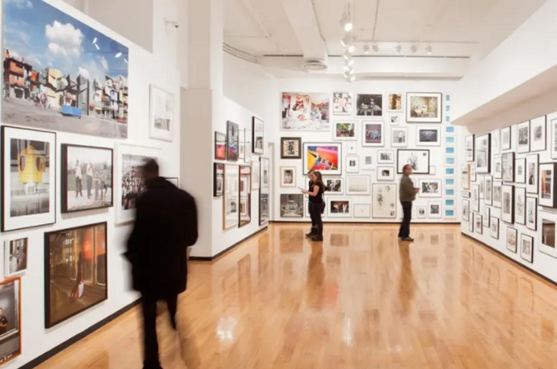 Visitors to the Museum of Contemporary Photography can reserve a time slot via Tock.
