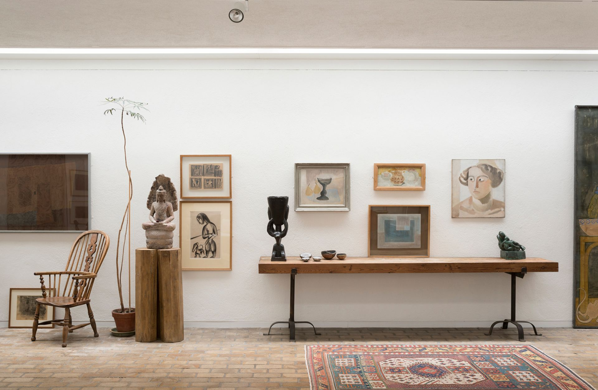 The permanent collection in the light-filled 1970s extension of Kettle's Yard Kettle's Yard