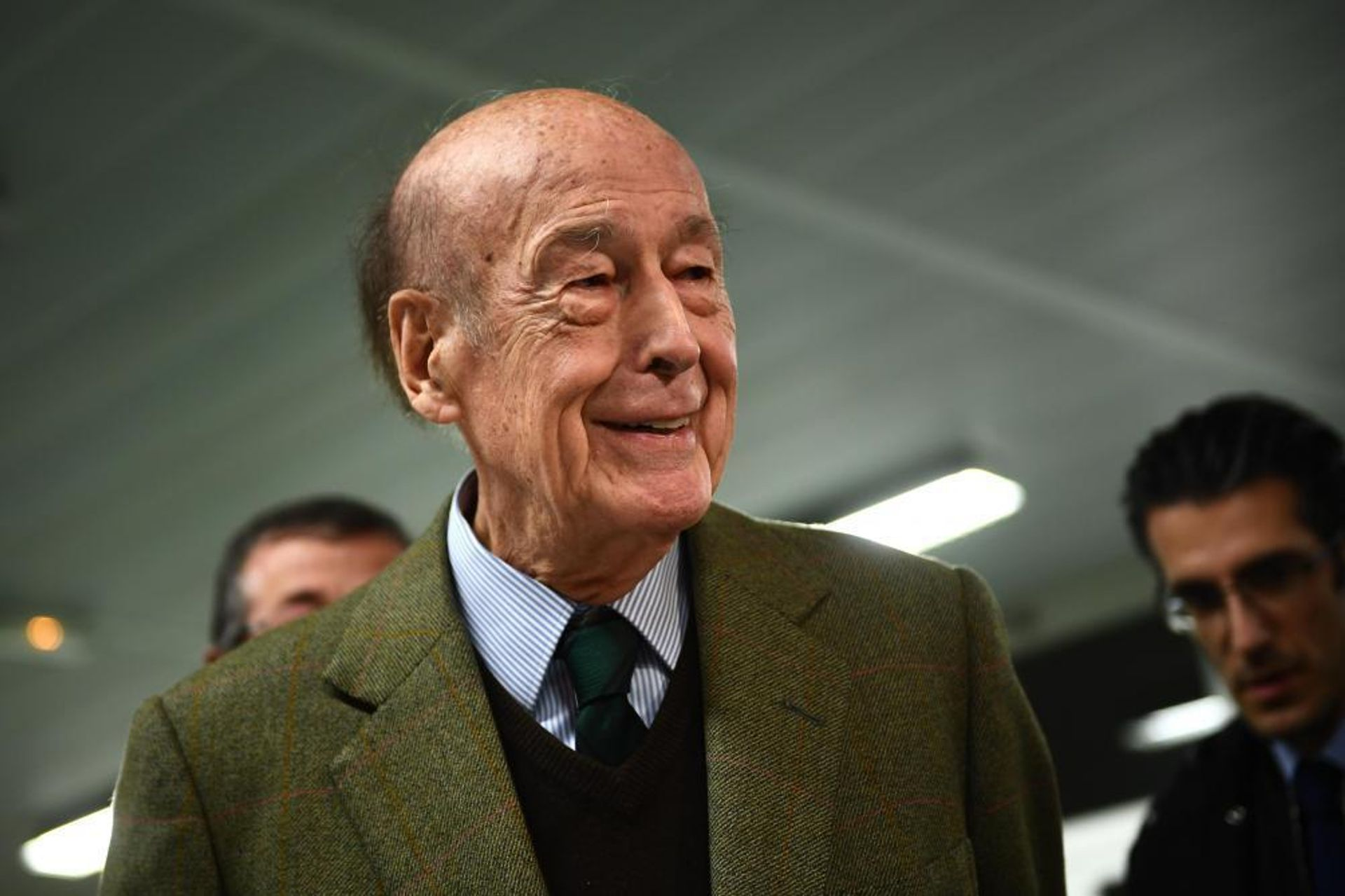 Valéry Giscard d'Estaing was France's president from 1974 to 1981