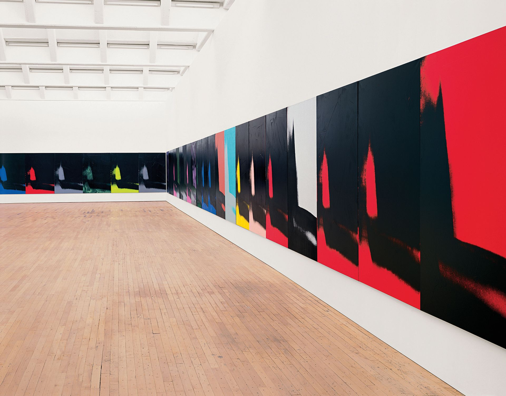 A rare display of Shadows (1978-79) will coincide with the Whitney's Warhol show Bill Jacobson Studio, New York; courtesy of the Dia Art Foundation, New York; © The Andy Warhol Foundation for the Visual Arts/Artists Rights Society (ARS), New York